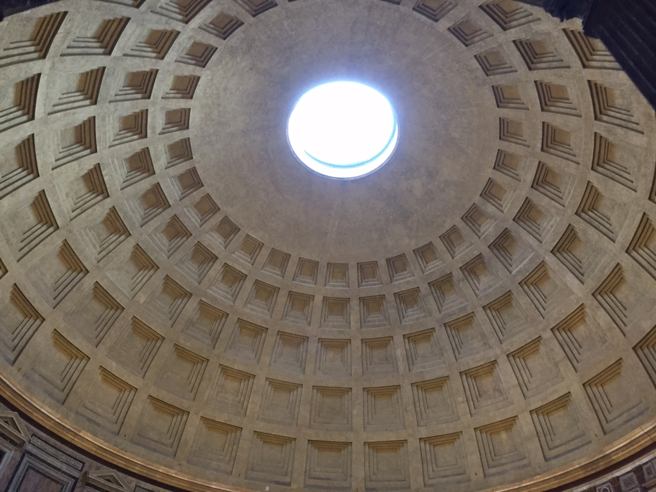 Not sure why I expected a helicopter tour or something, but you were free Pantheon, so I can't really complain. Photo by Max Siskind.