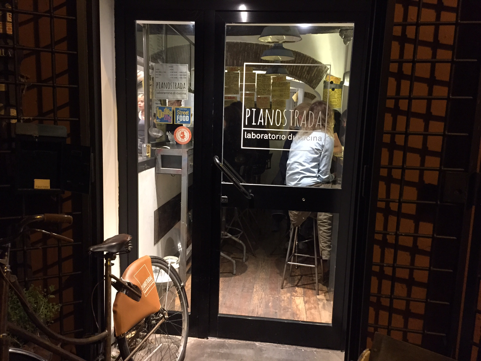 Pianostrada. One of my favorite meals of all time. Period. Look how small this place is. LOOK AT IT. Photo by Max Siskind.