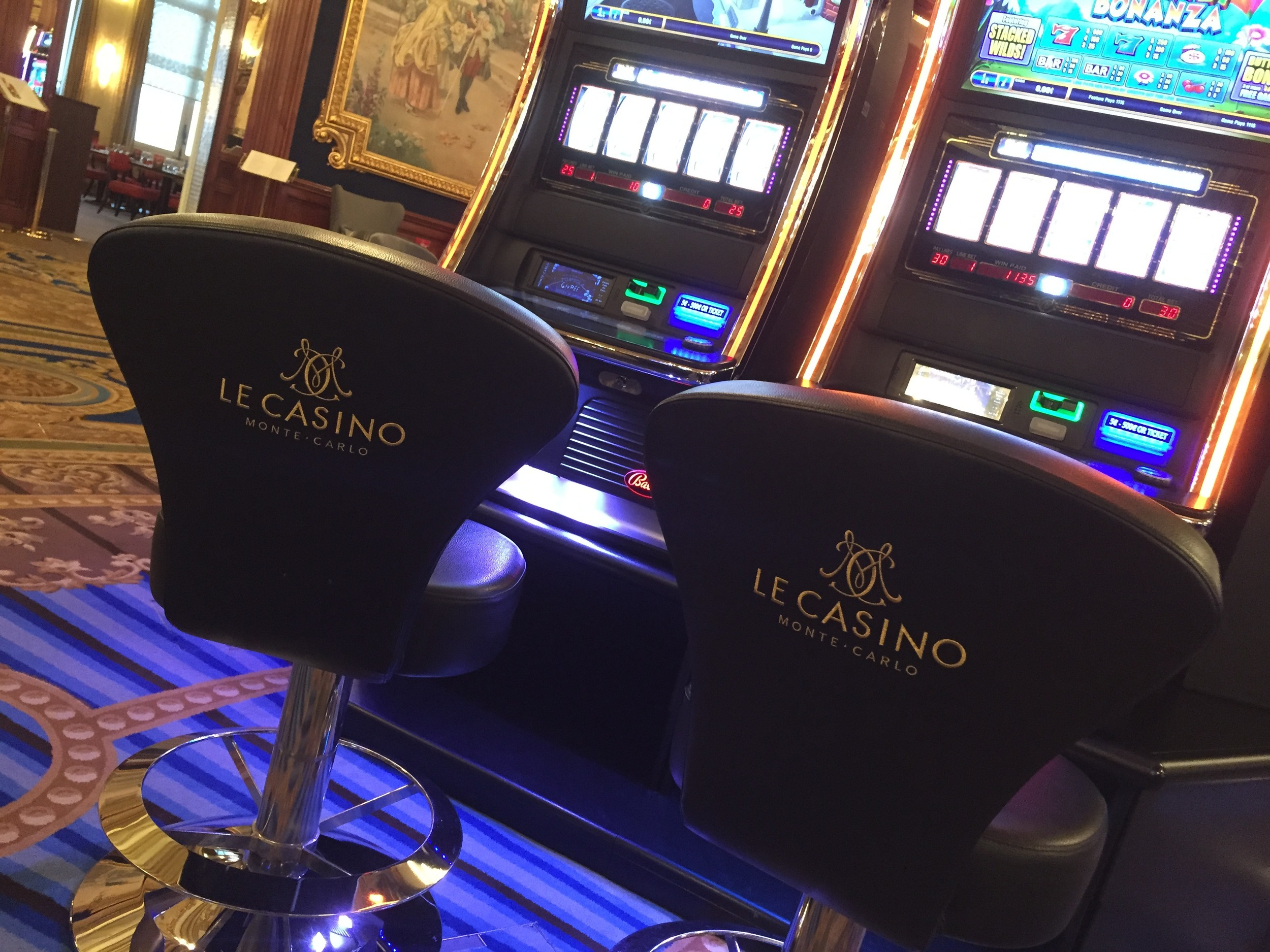 I took a few others, but this was the best photo I was able to snap of the interior of the casino.  Photo by Max Siskind.