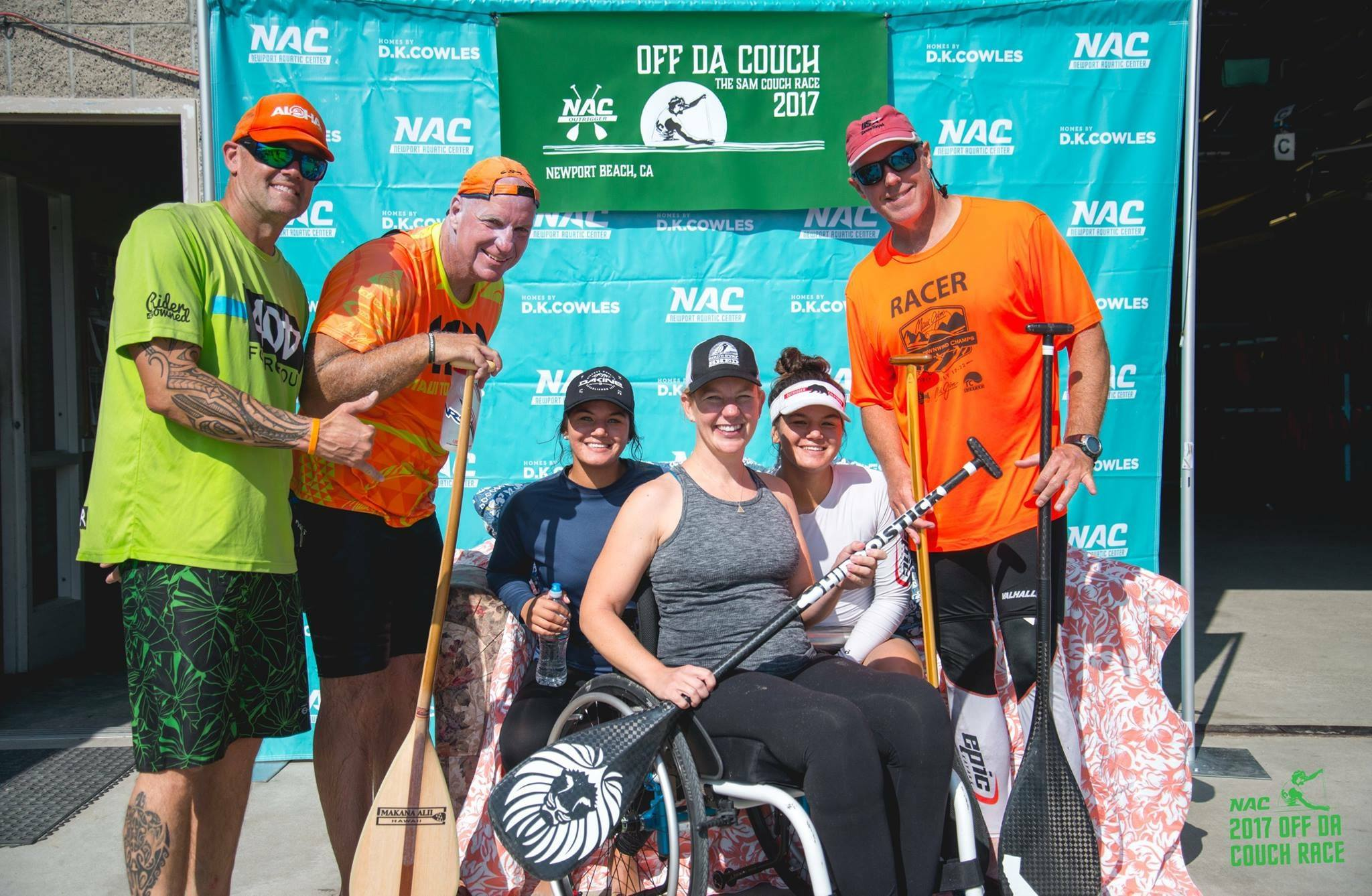 A great story from the weekend: This avid golfer and athlete in the middle, Hanna, was in a terrible accident just 8 months ago. On SATURDAY she raced amongst some of best athletes in the area during the 9 miles course! We are lucky to have a such a strong support circle in our community. Congratulations Hanna, we're cheering for ya! #homesbydkcowles  #offdacouch  #dkfindshomes  #newportaquaticcenter