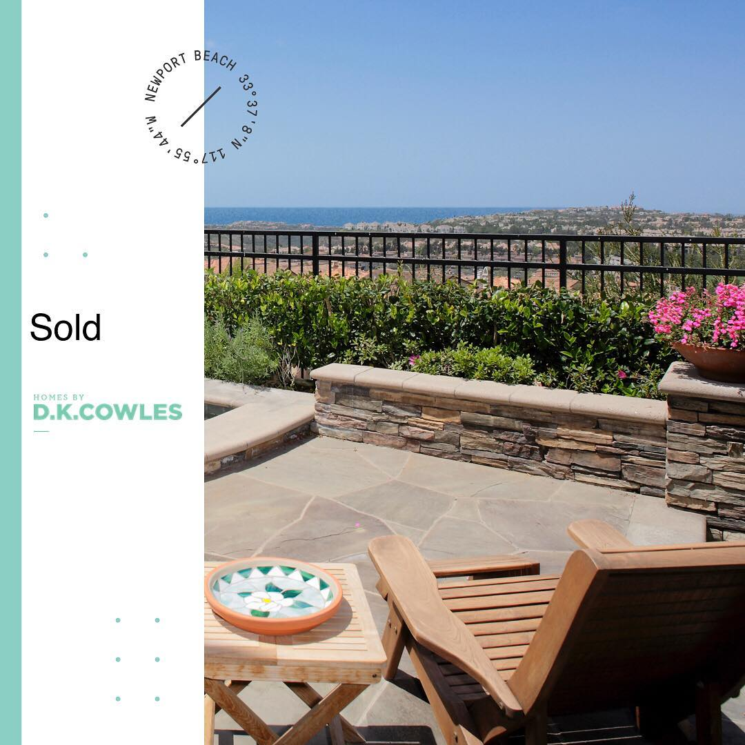 SOLD - Newport Beach 🌞  Who You Work With Matters  Are you thinking of selling in 2018? Wonder how much you could make from the sale of your home?  Contact us today, no pressure, just expert real estate advice. 949.697.1219  www.dkcowles.com