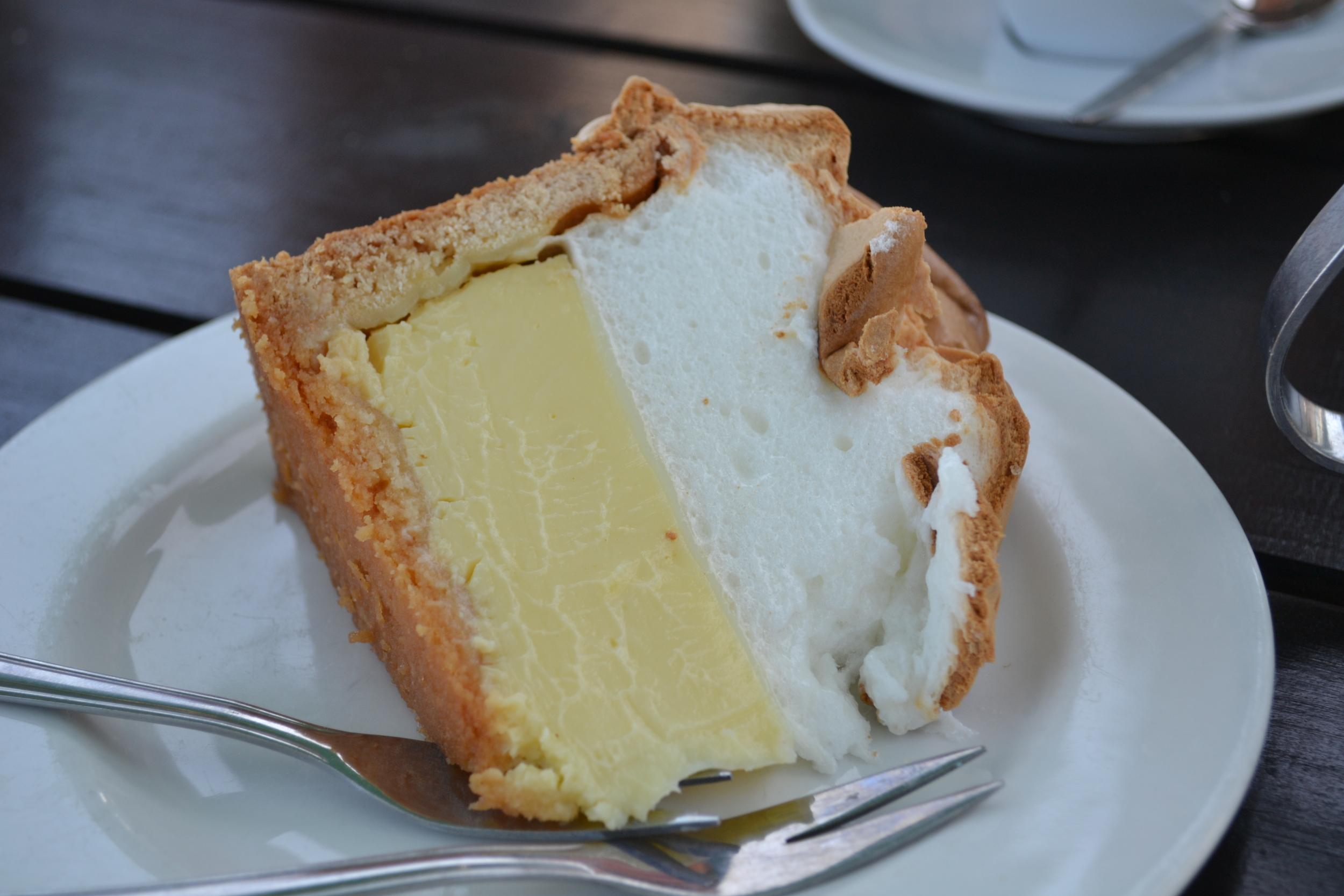 Cape Town lemon meringue pie