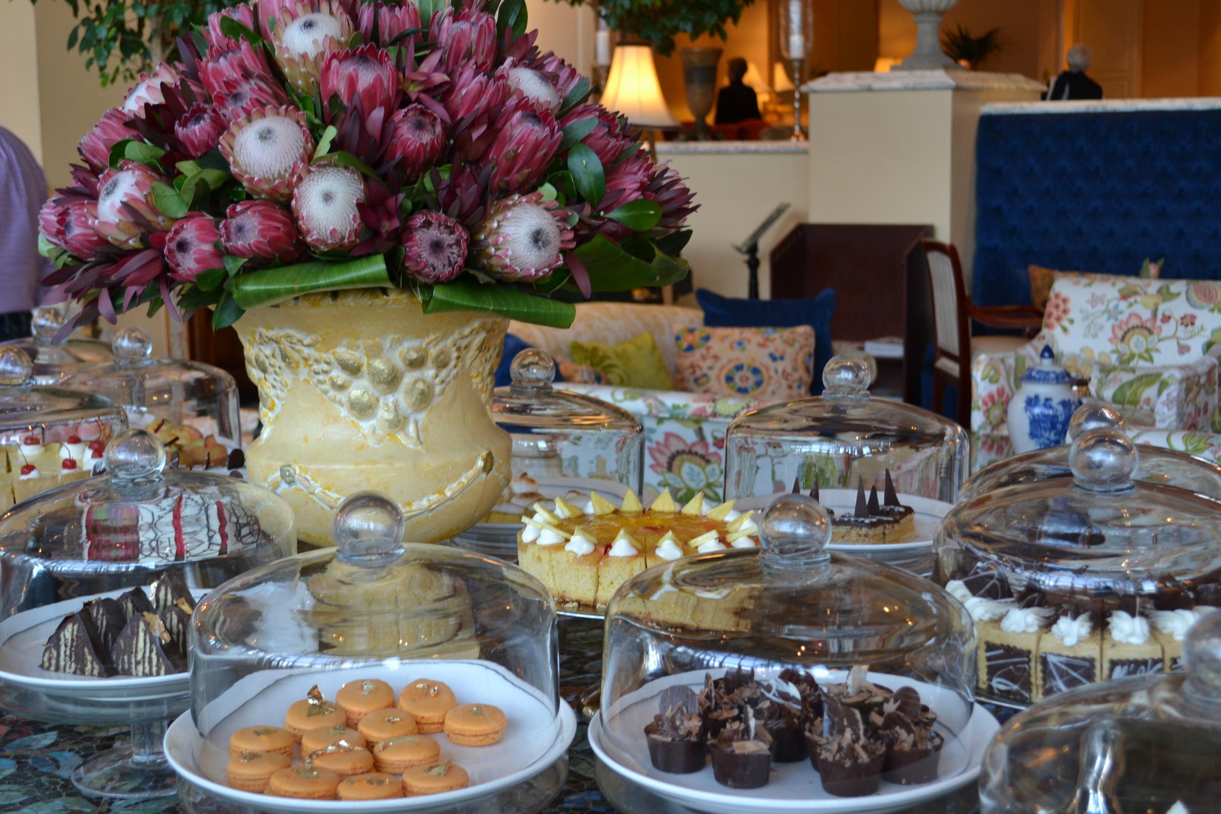 Tea at Table Bay Hotel