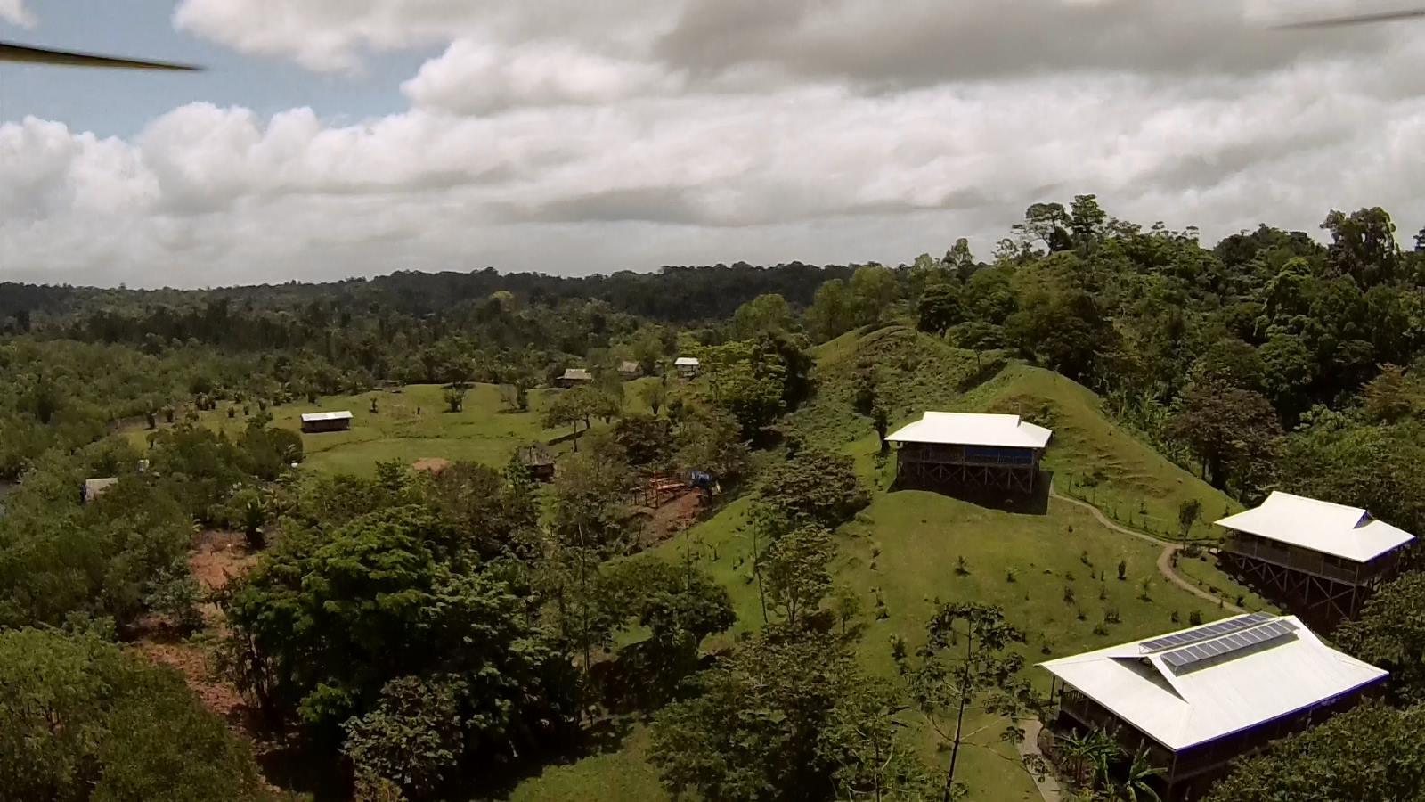 Shirlene's home in Panama