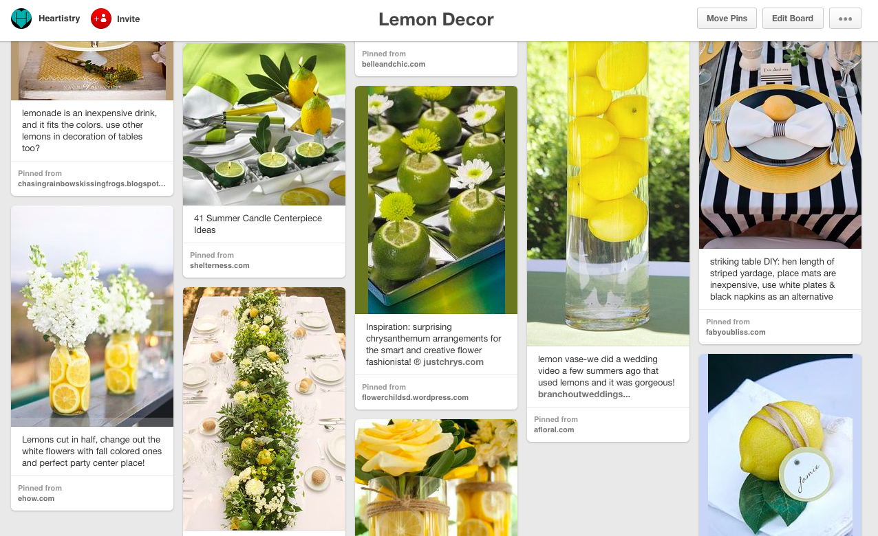 lemon pinterest
