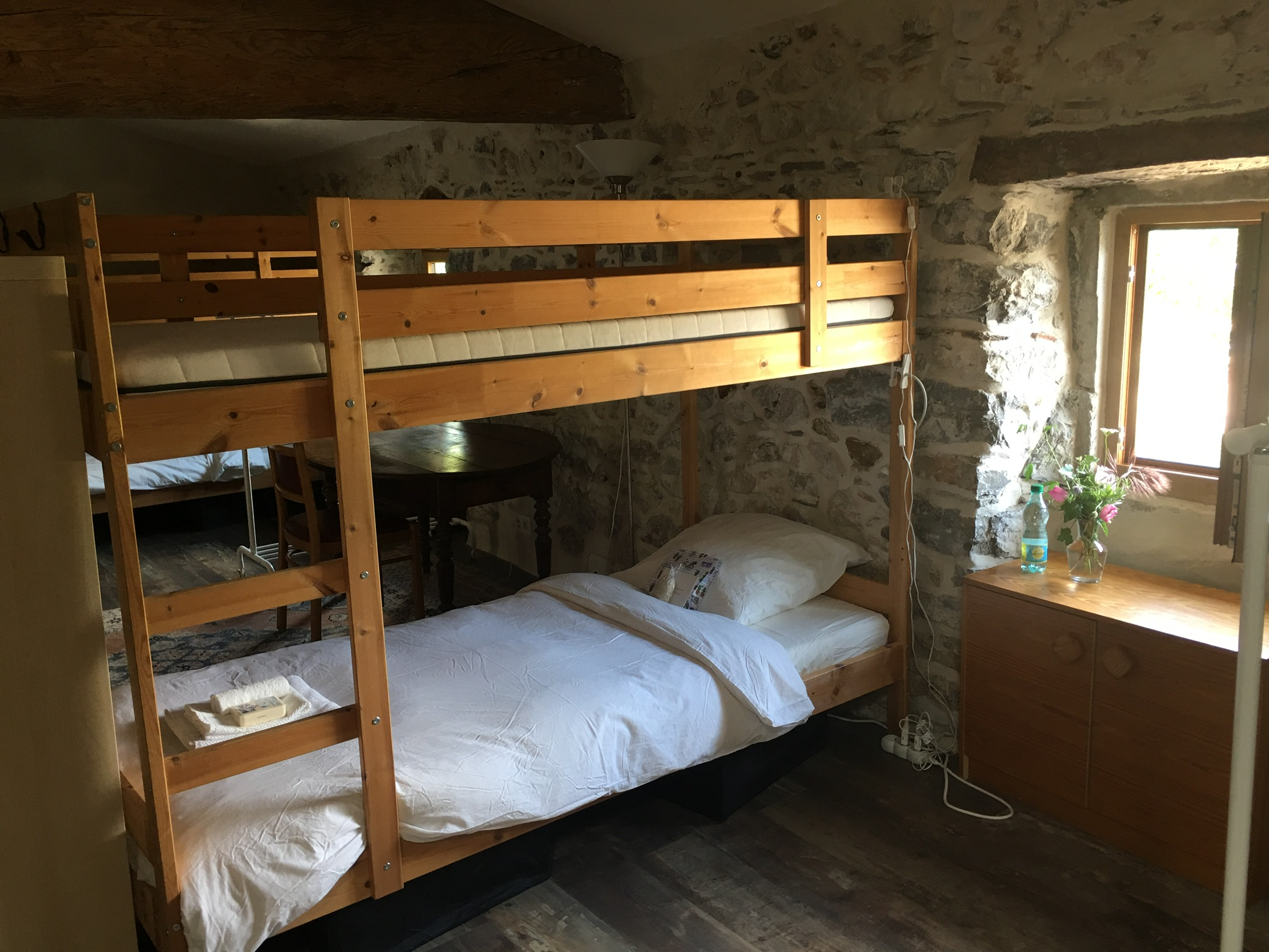 Accommodation in the Chateau