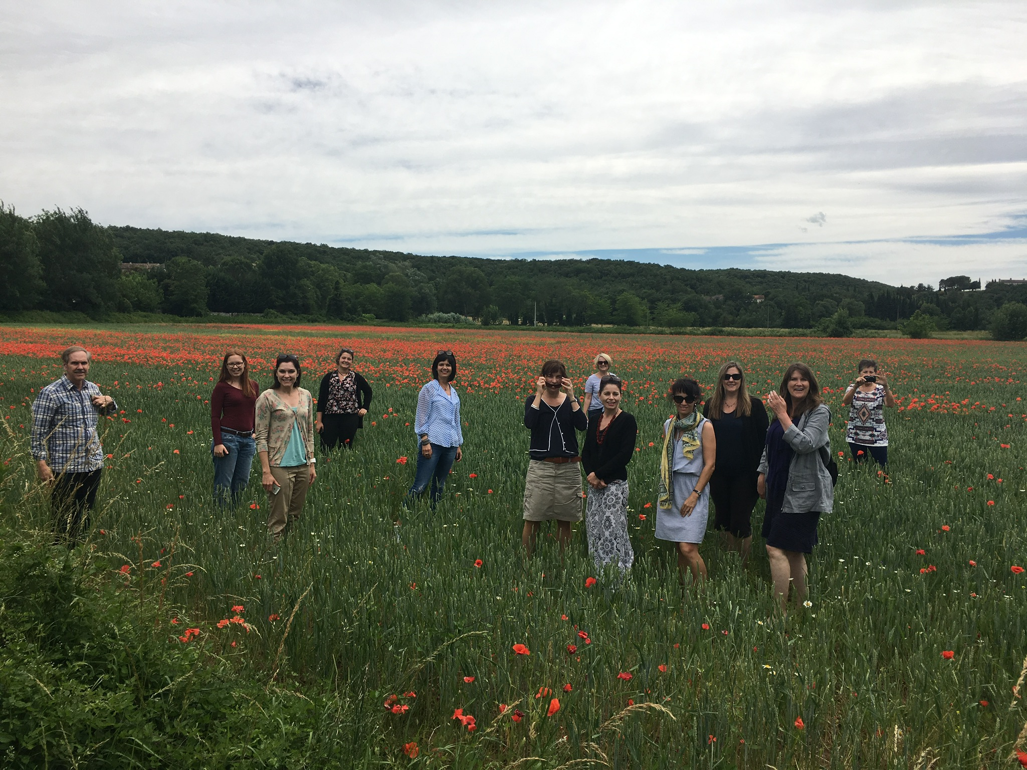 fun in the poppy field