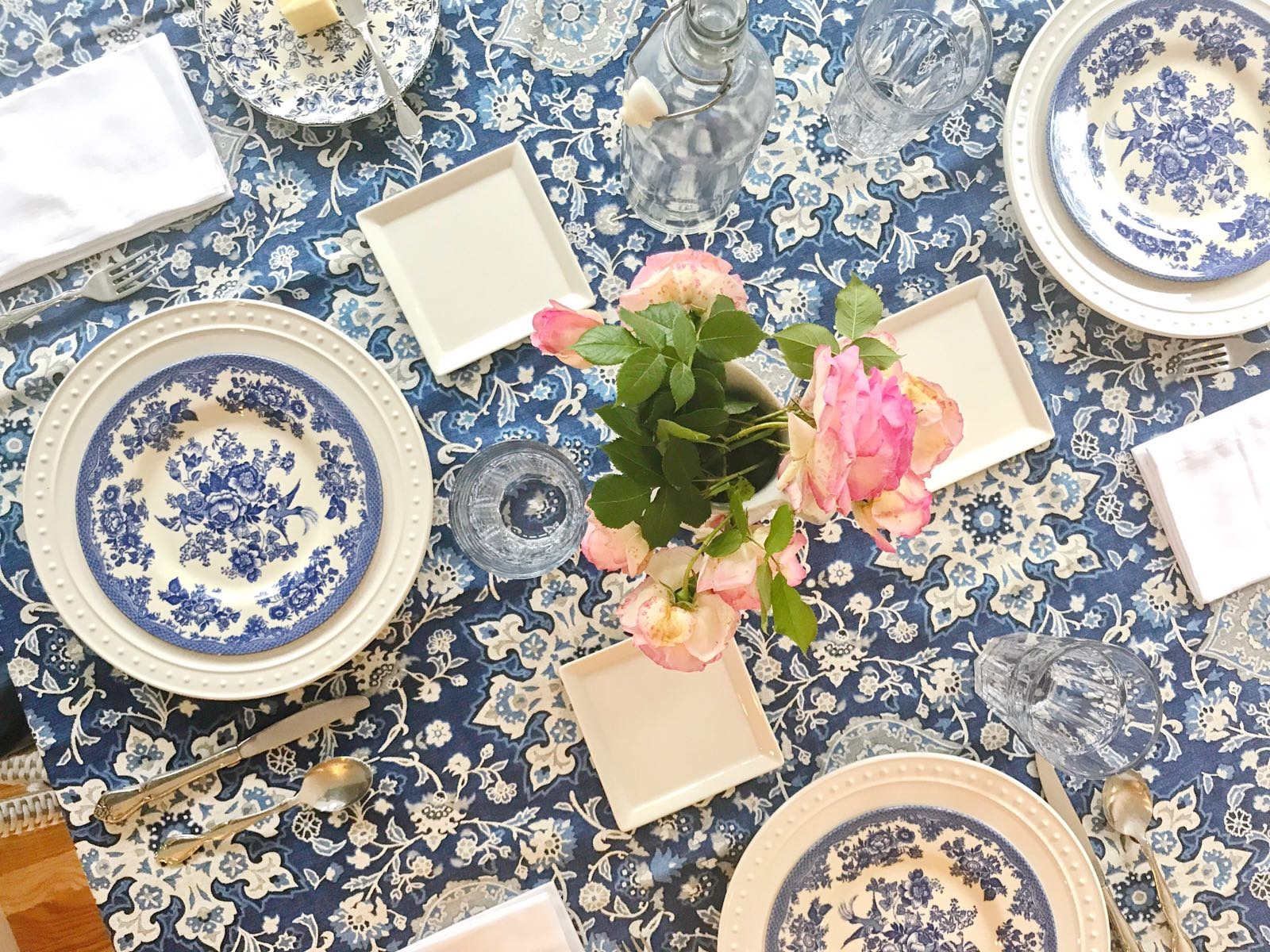 table setting by Leigh Anne Wilkes