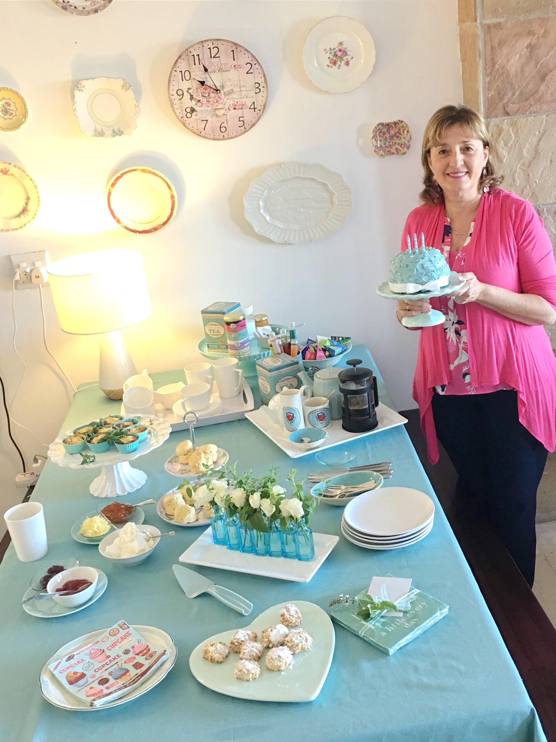 Lyn Johnson celebrates Heartistry