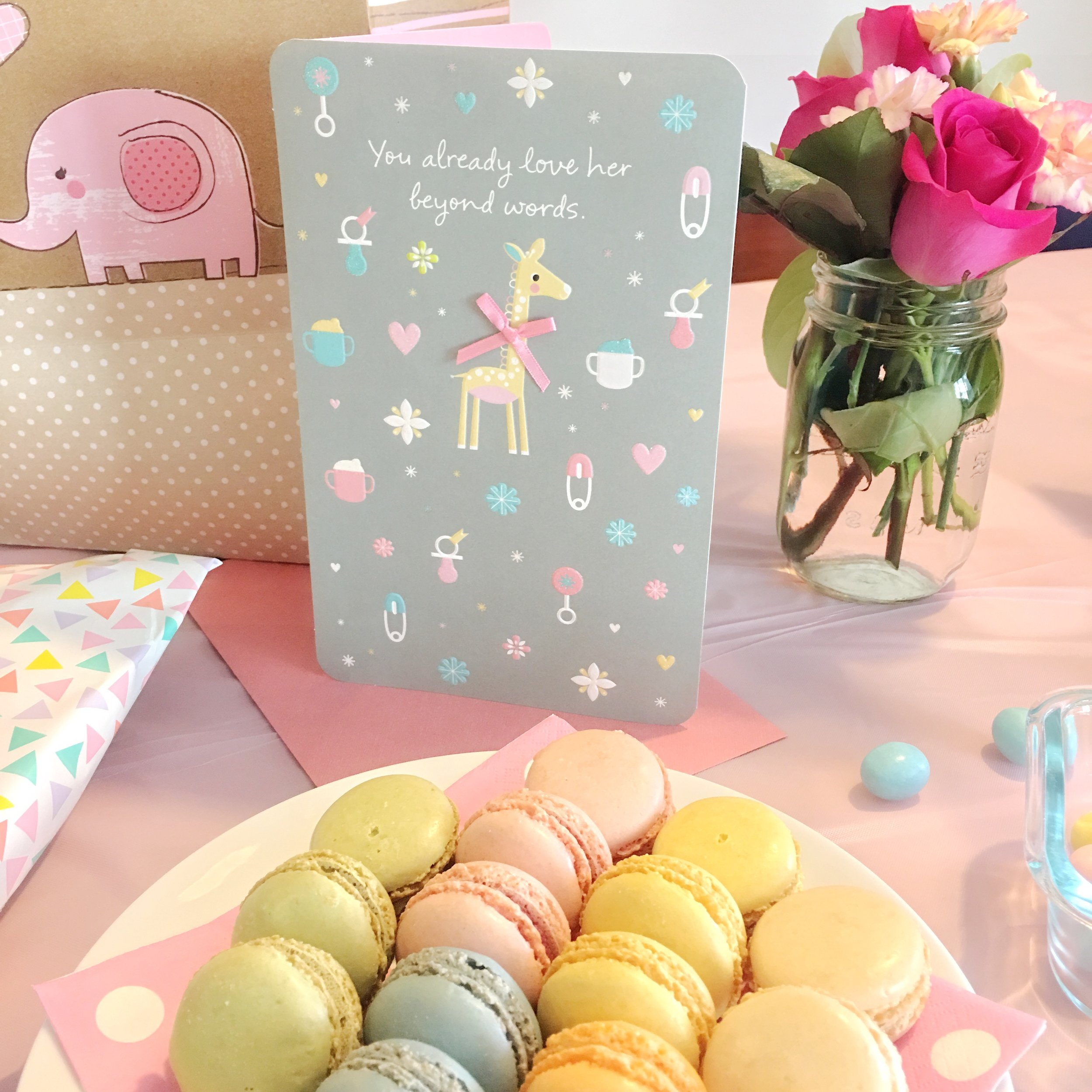 Macaroons for Baby Party