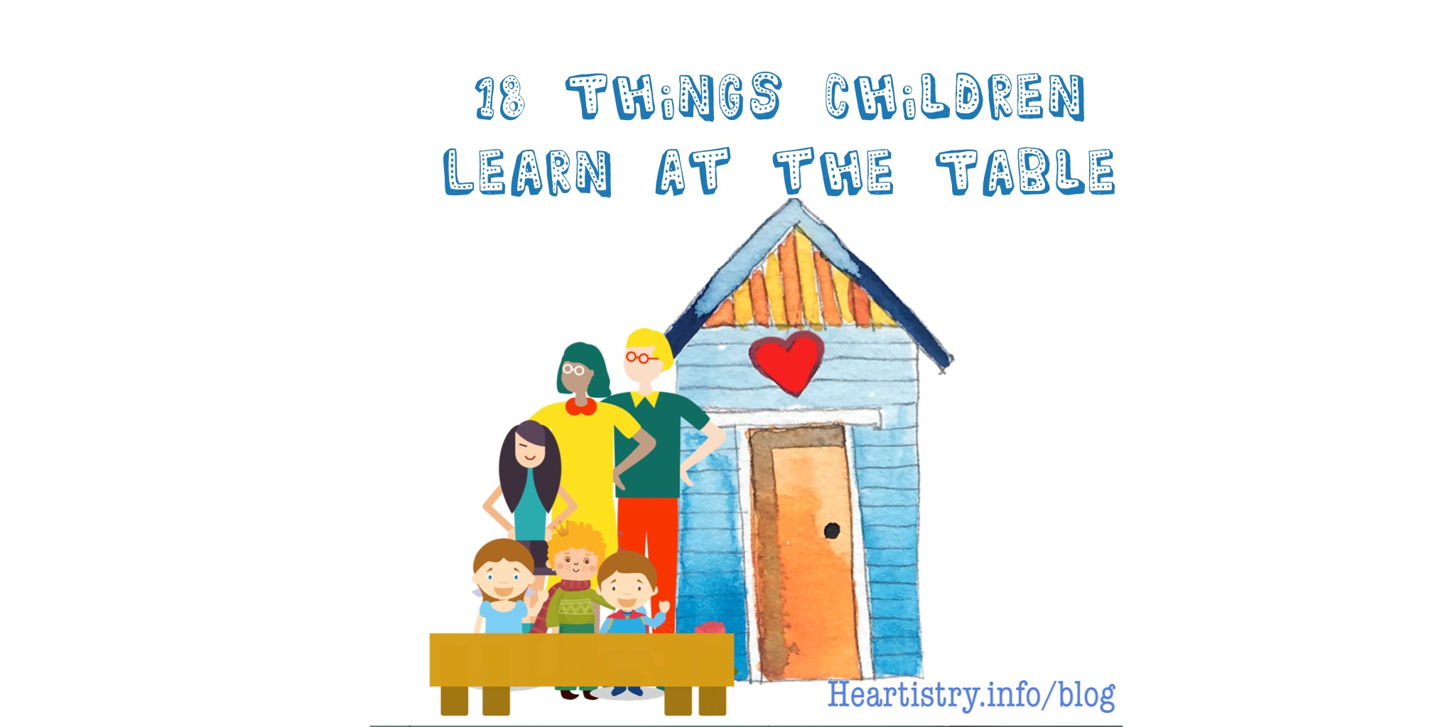 18 things children learn at the table