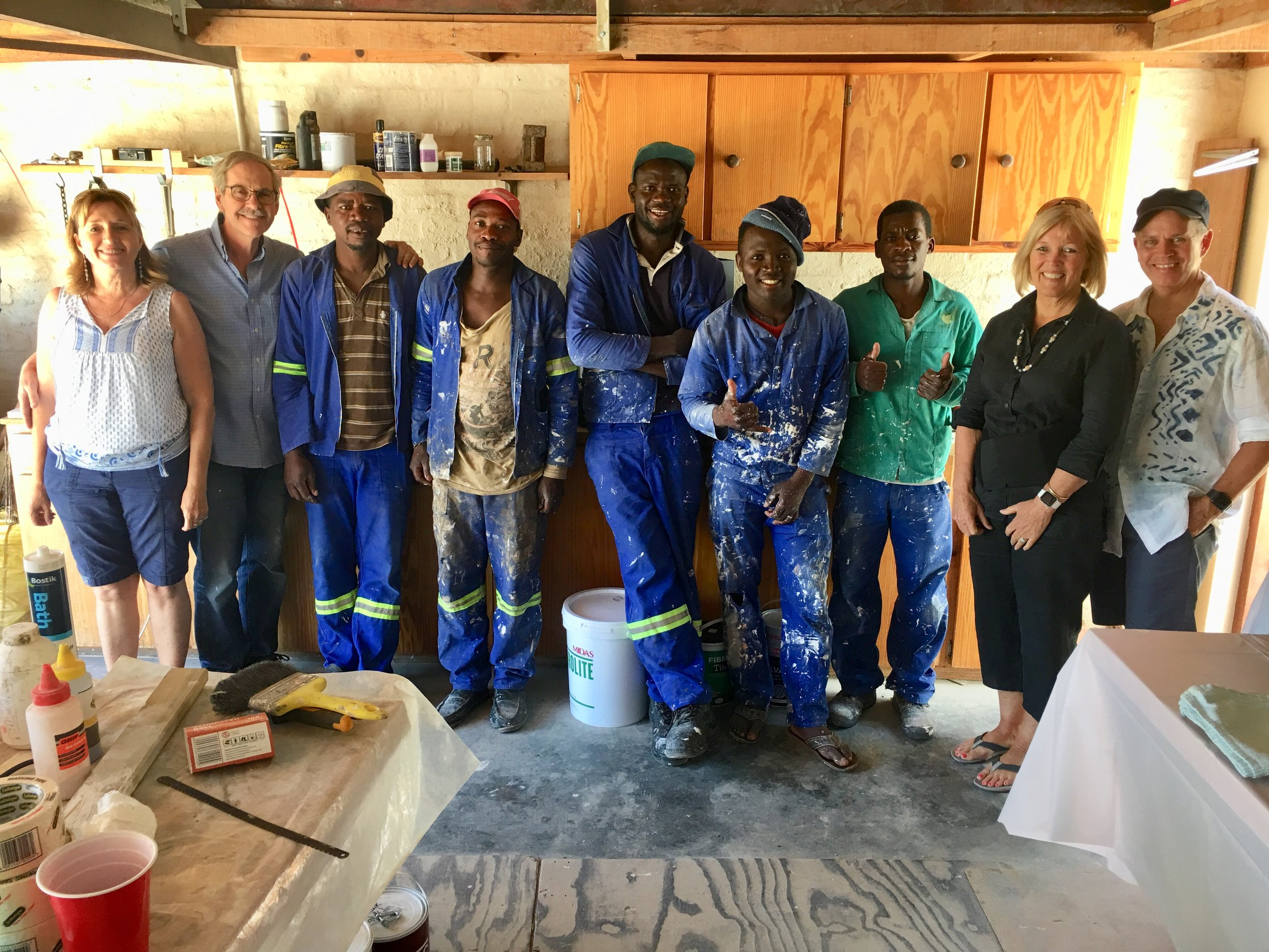 building crew