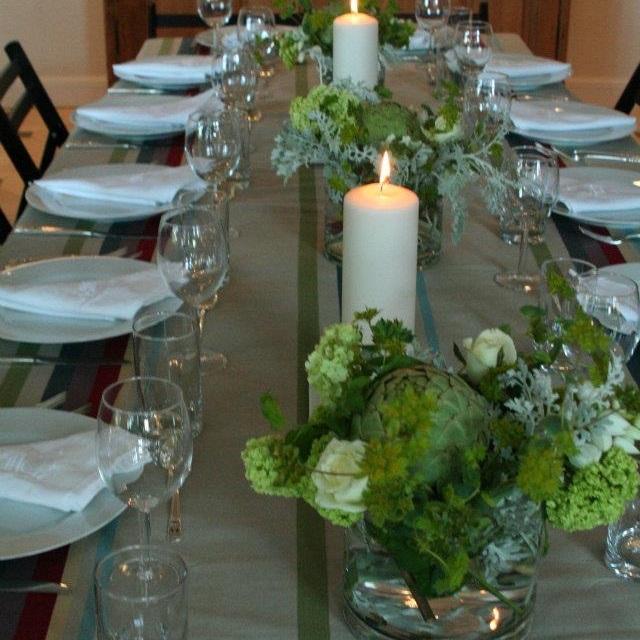 artichoke+in+flower+arrangement