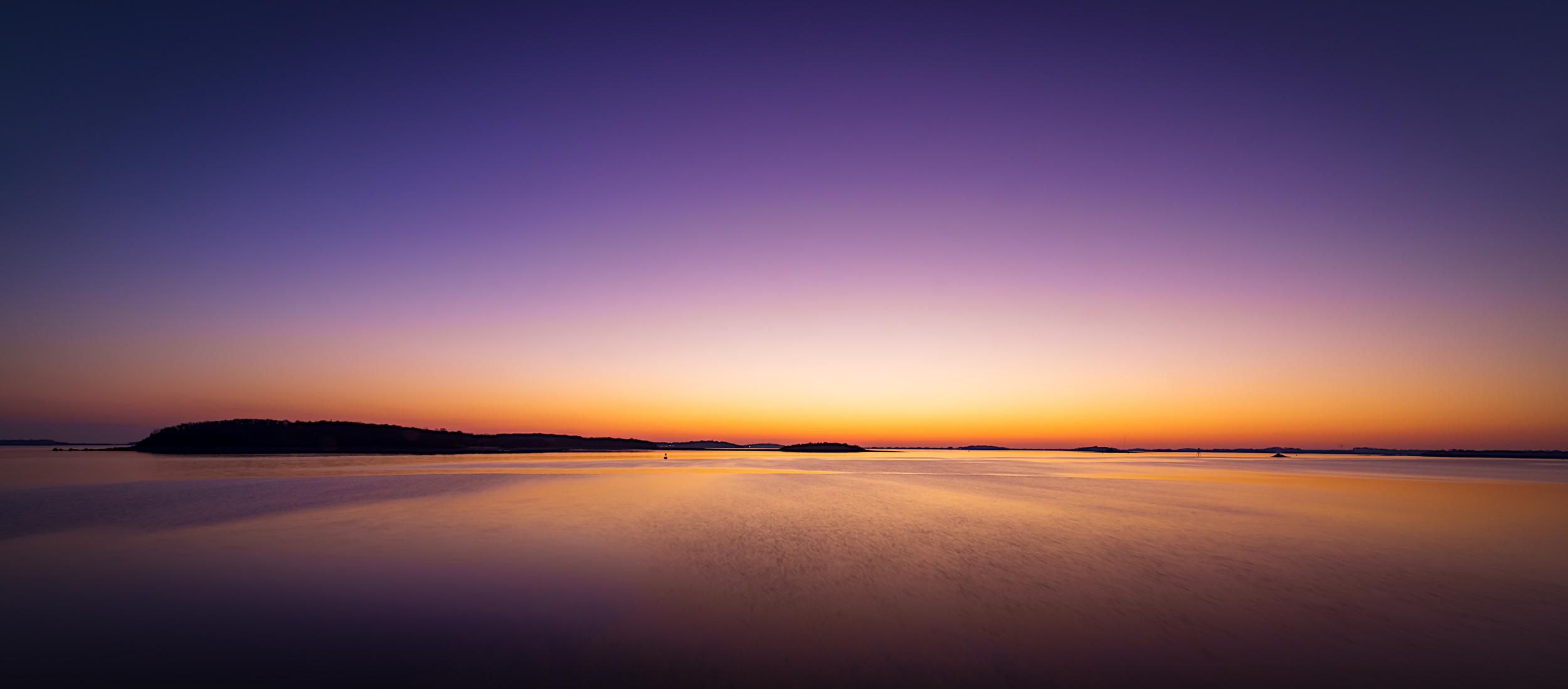 Peddocks Island at Dawn