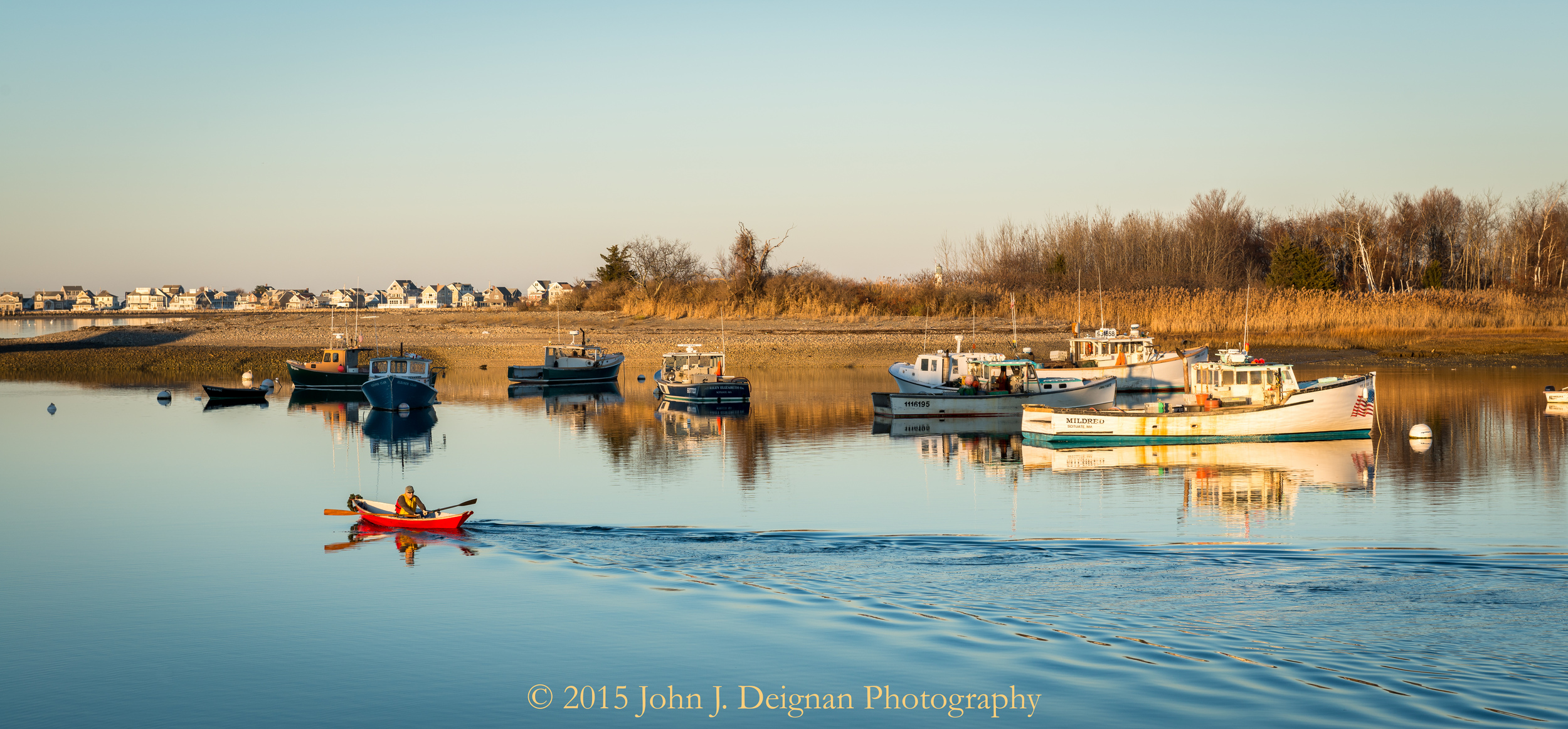A Late Afternoon in Scituate