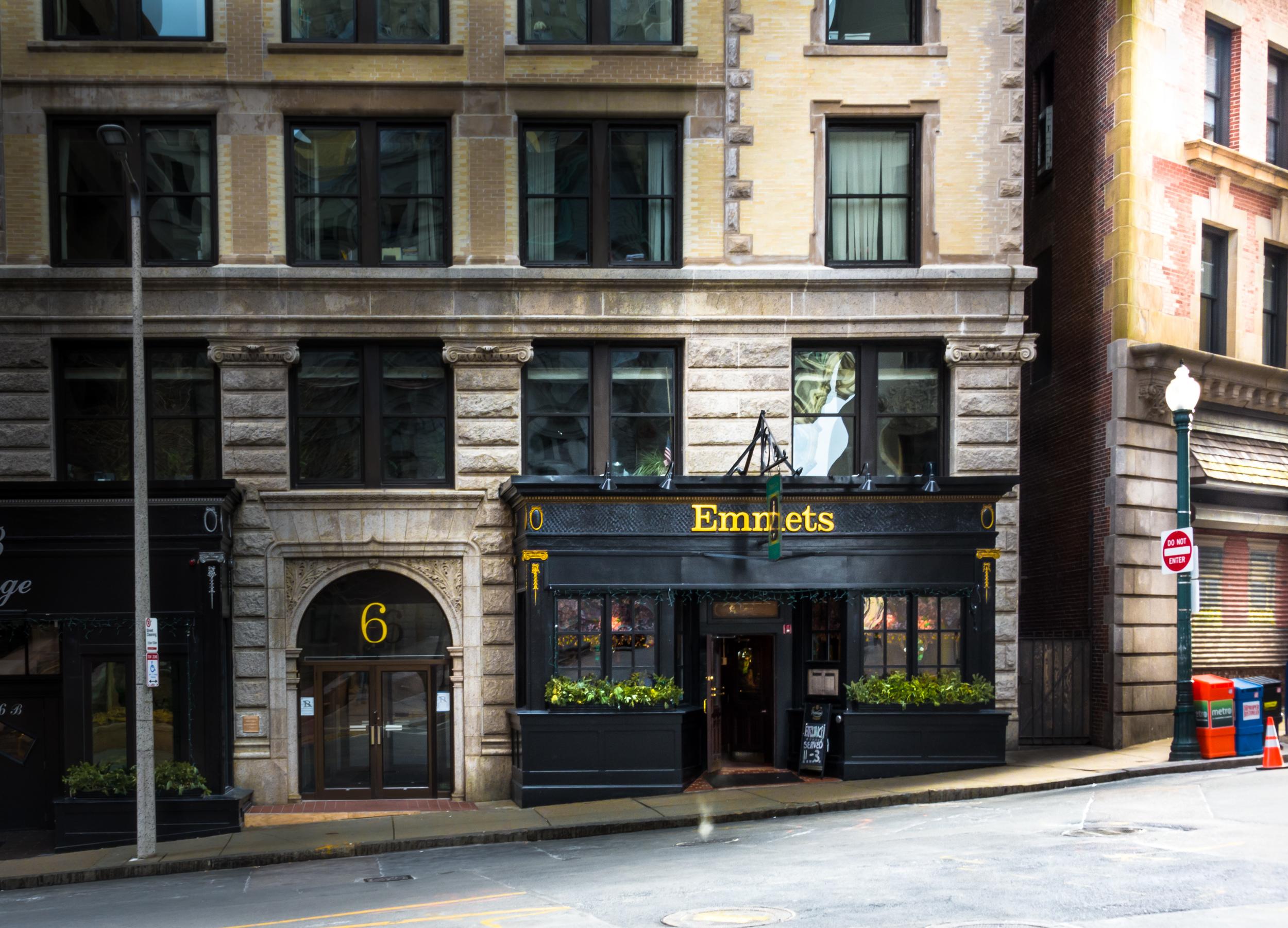 Emmett's at Six Beacon Street