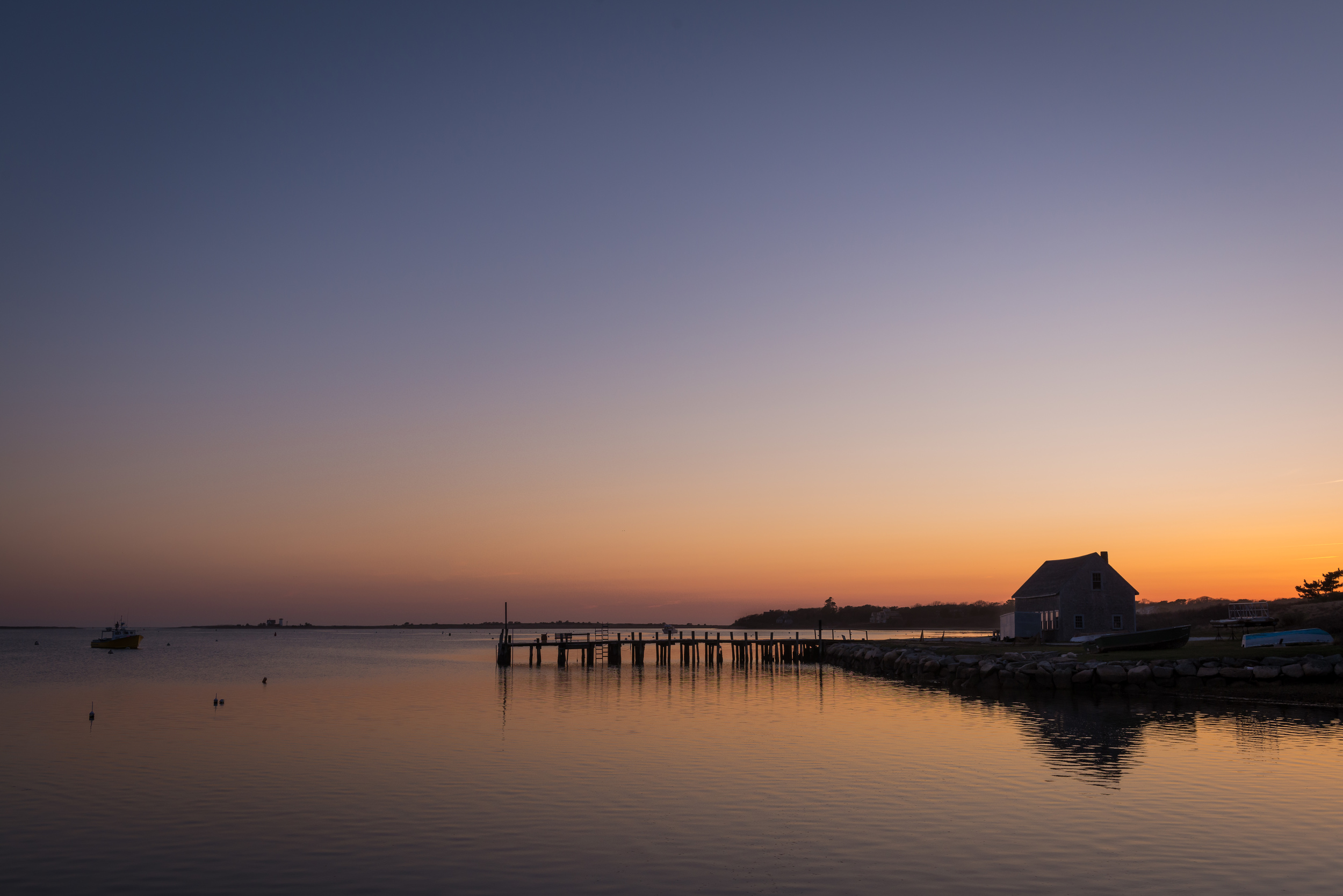 Dusk at Stage Harbor