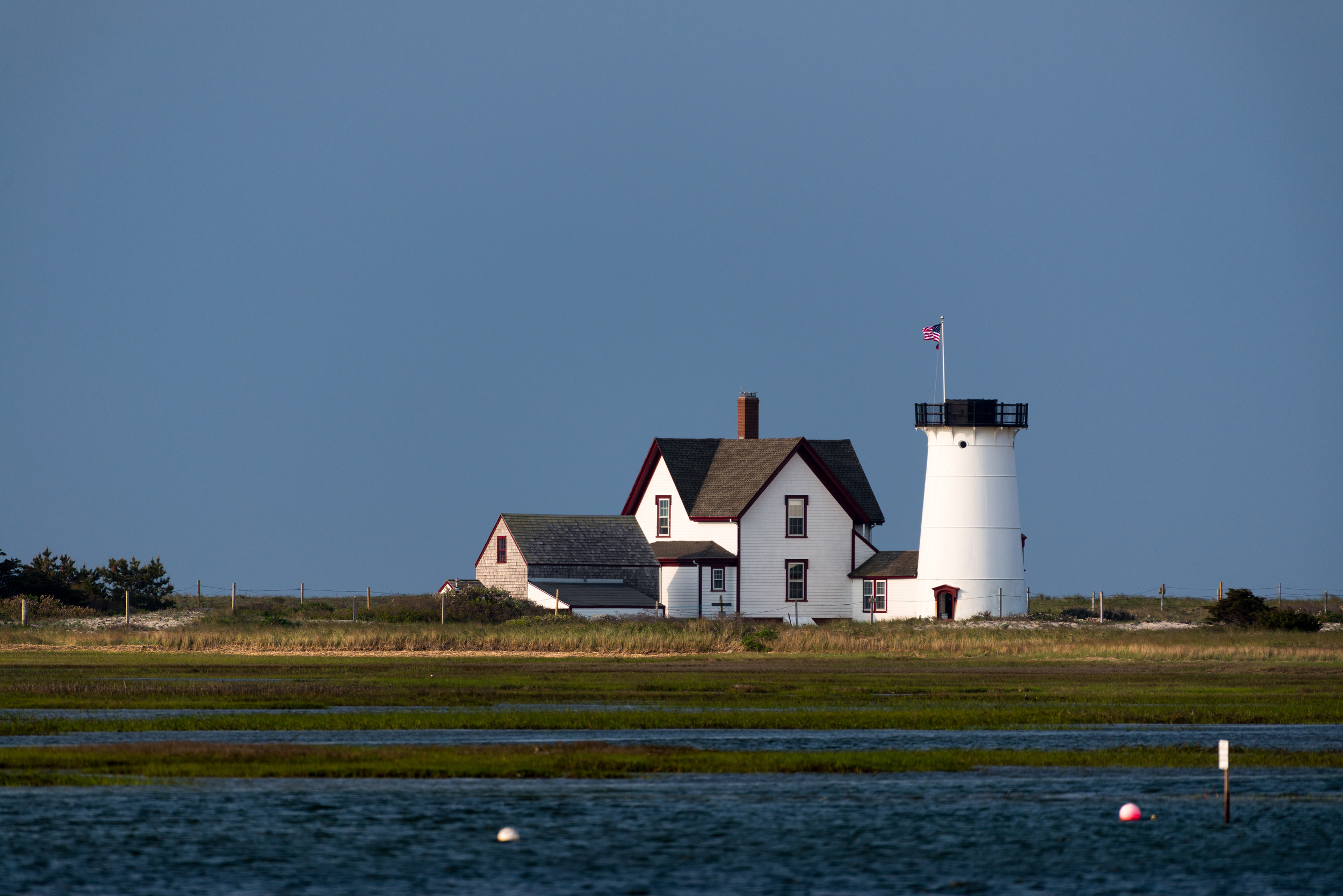 Early Morning at Stage Harbor Light