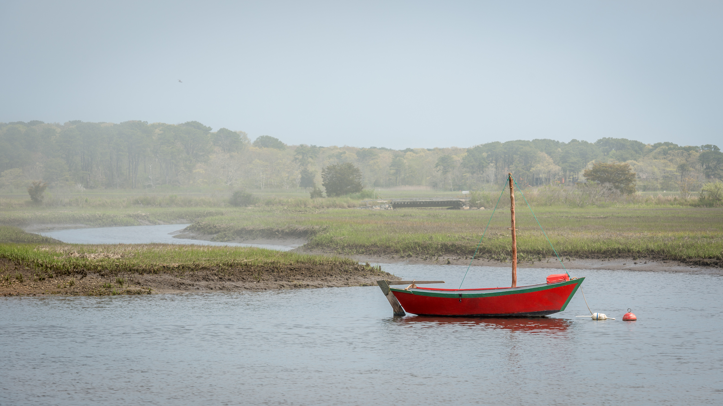 Red Boat on The Herring River