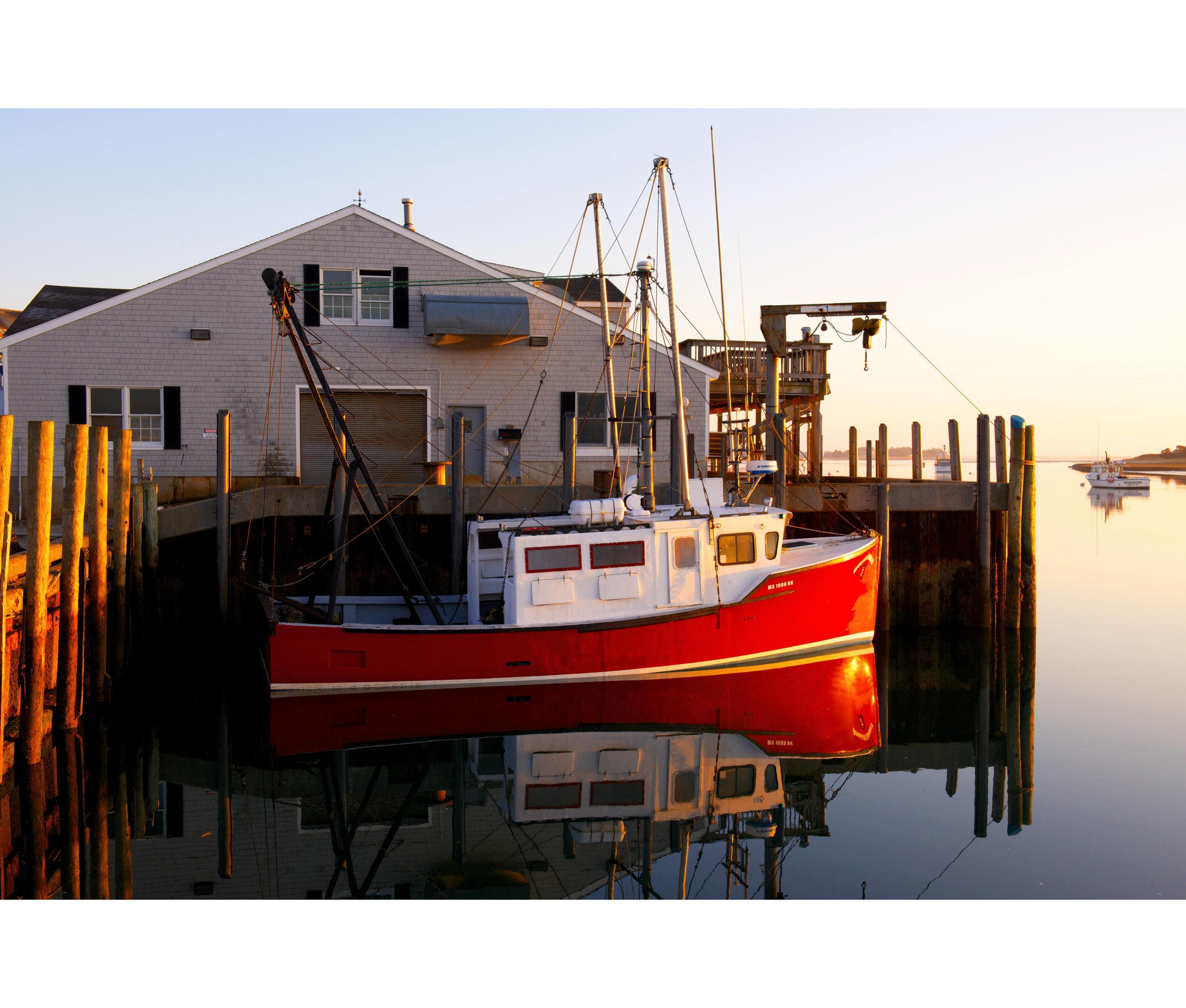 A Fish Pier Sunrise
