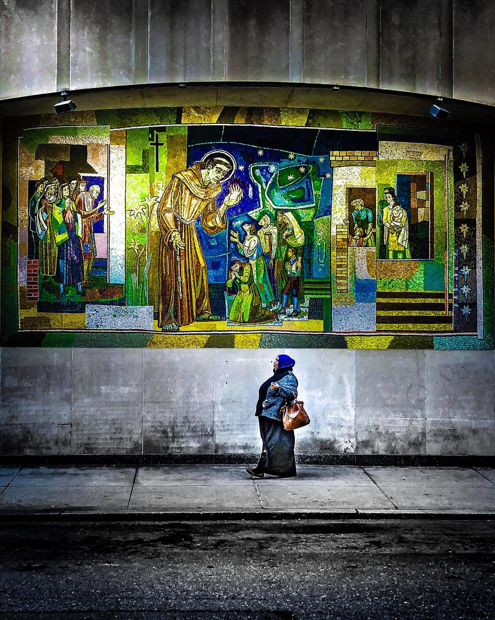 Saint Anthony in Boston