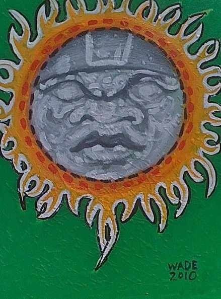 Olmec in the Sun