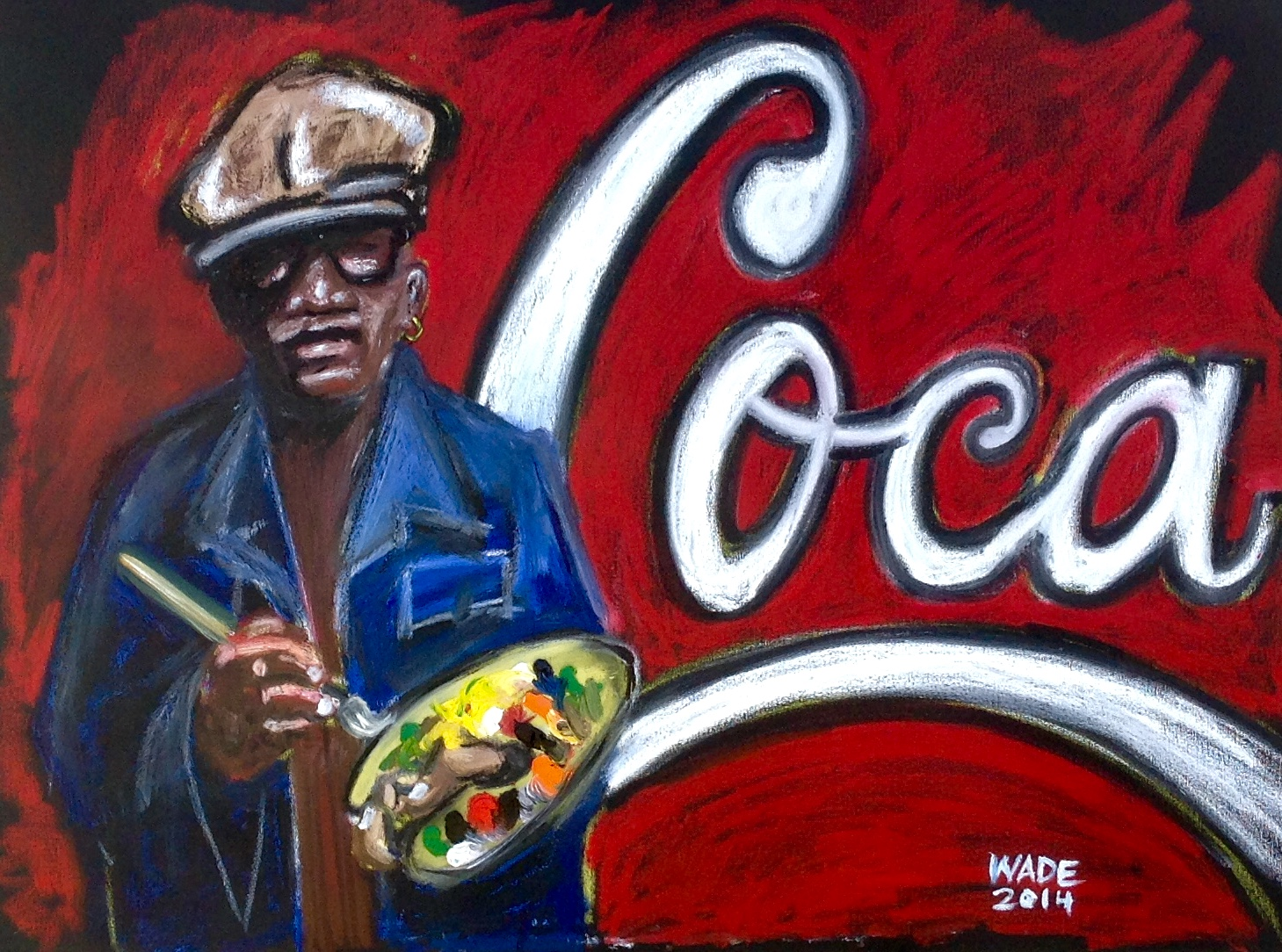 The Coke Man Who Paints