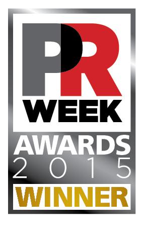 PRWeek Award Winner Official Tag