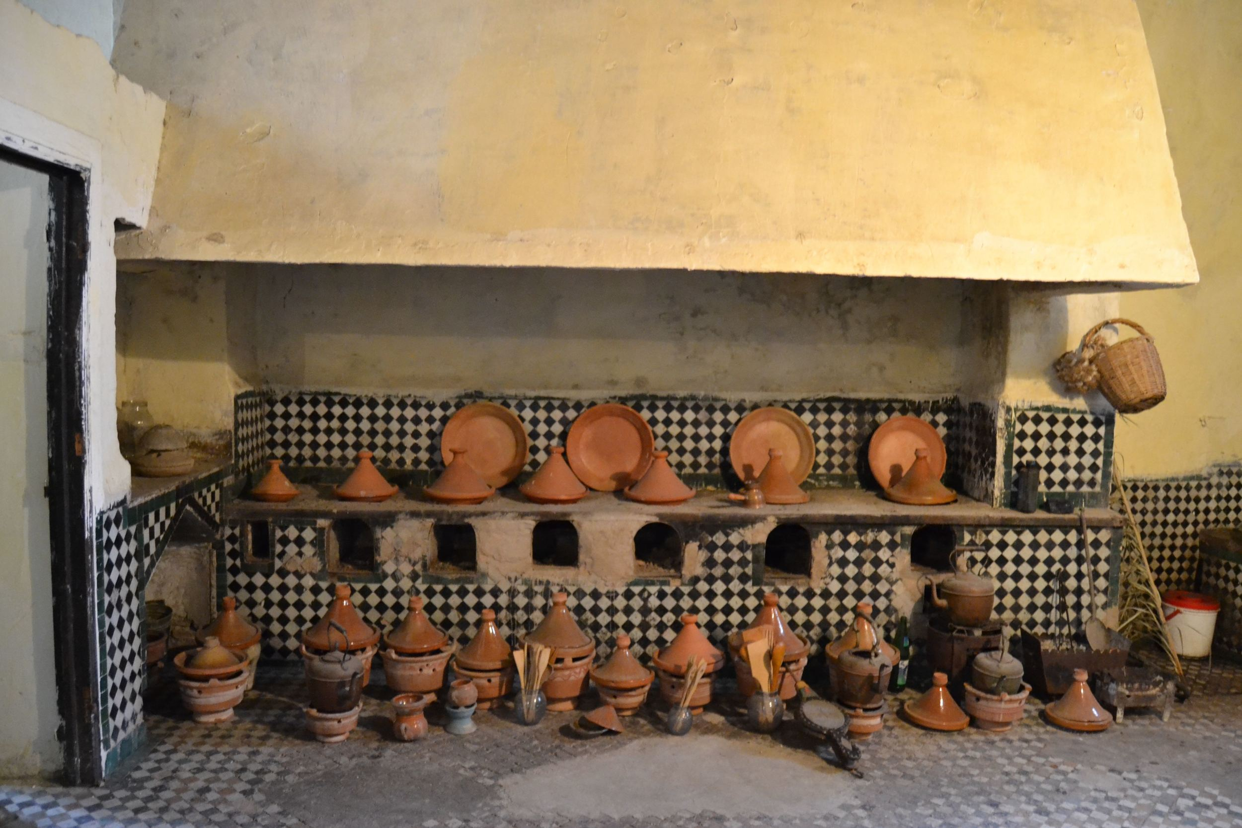 The Glaoui Palace Kitchen