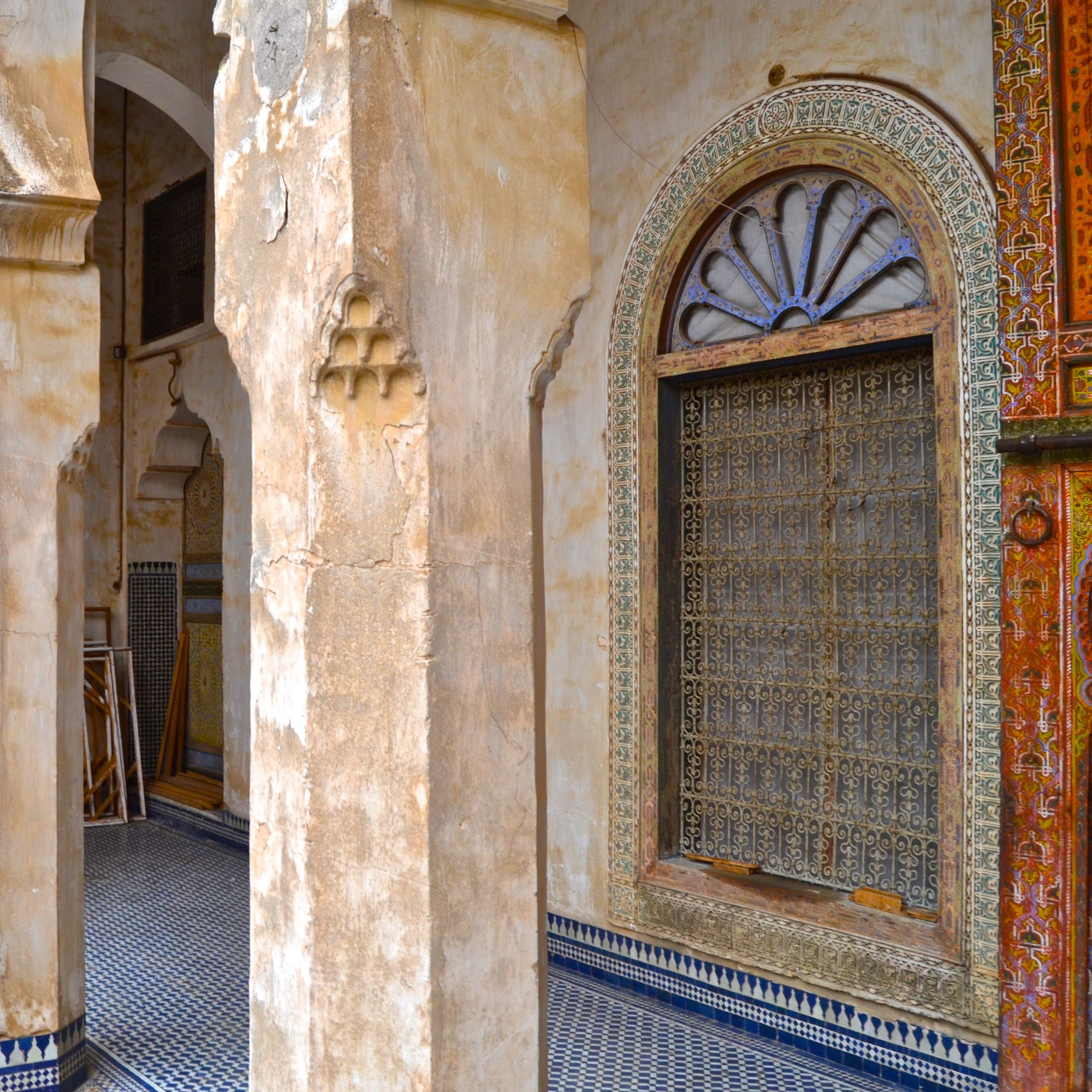 The Glaoui Palace Hallway