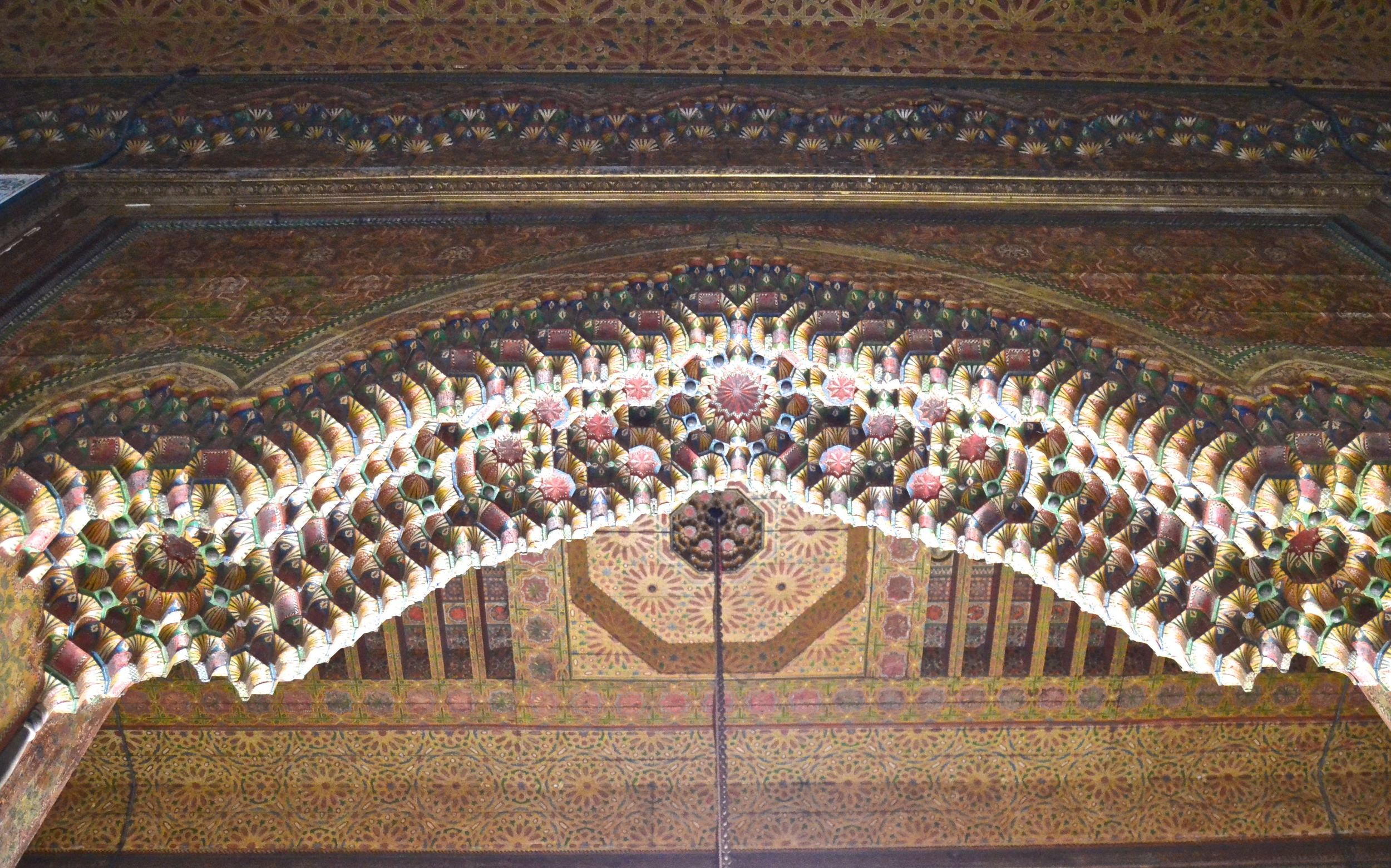 The Glaoui Palace Roof Detail