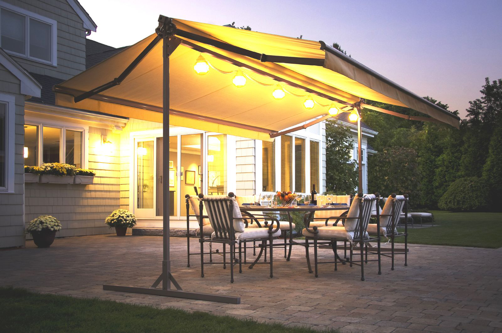 Pergola Designs NY CT |  landscaping ideas for patio shadE