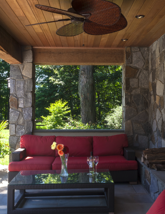 Hudson Design outdoor room