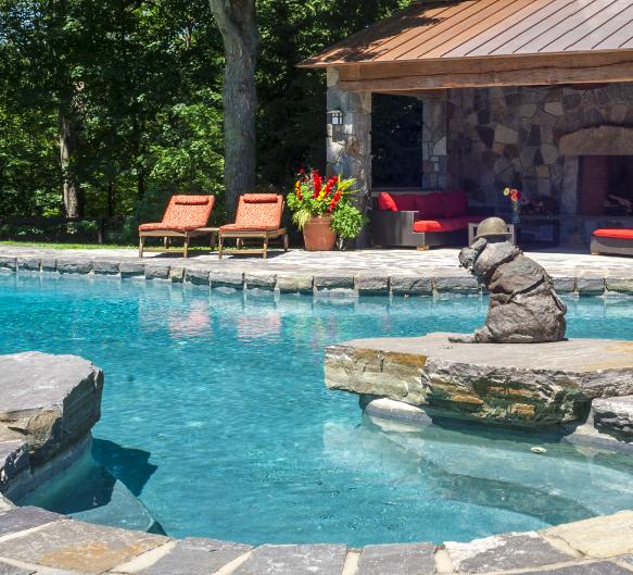 Hudson Design swimming pool