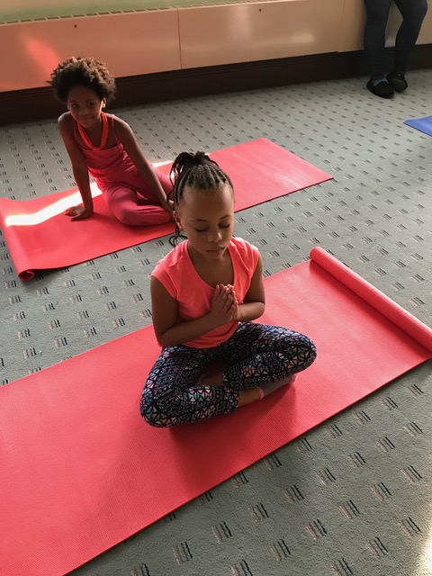 Quieting our minds at yoga