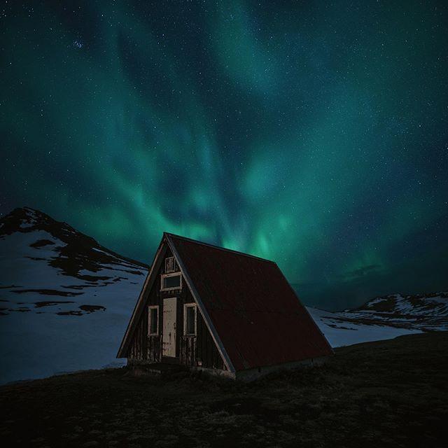 Aurora Borealis. Iceland.
