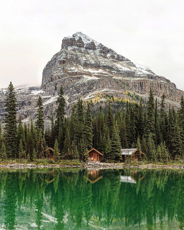 Lake O'Hara. BC. Canada. Well, I'm off on a 6 day backpacking adventure in Idaho.