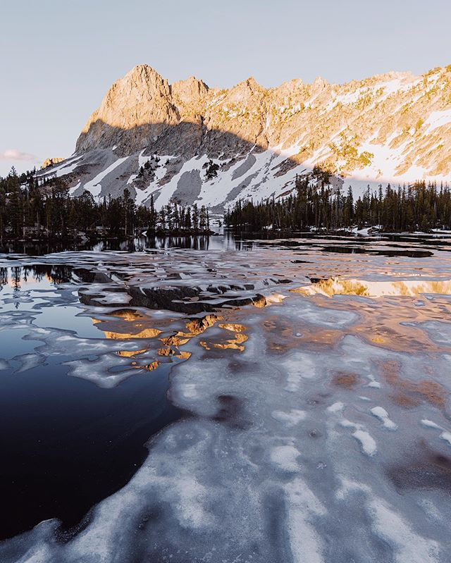Spent 5 days in Idaho hiking around and exploring some new places. It was cold enough up in the half frozen lakes that mosquitos weren't out yet so camping out was even more fun. Spending time unplugged from social media, having good conversations in beautiful places is one of my favorite things.