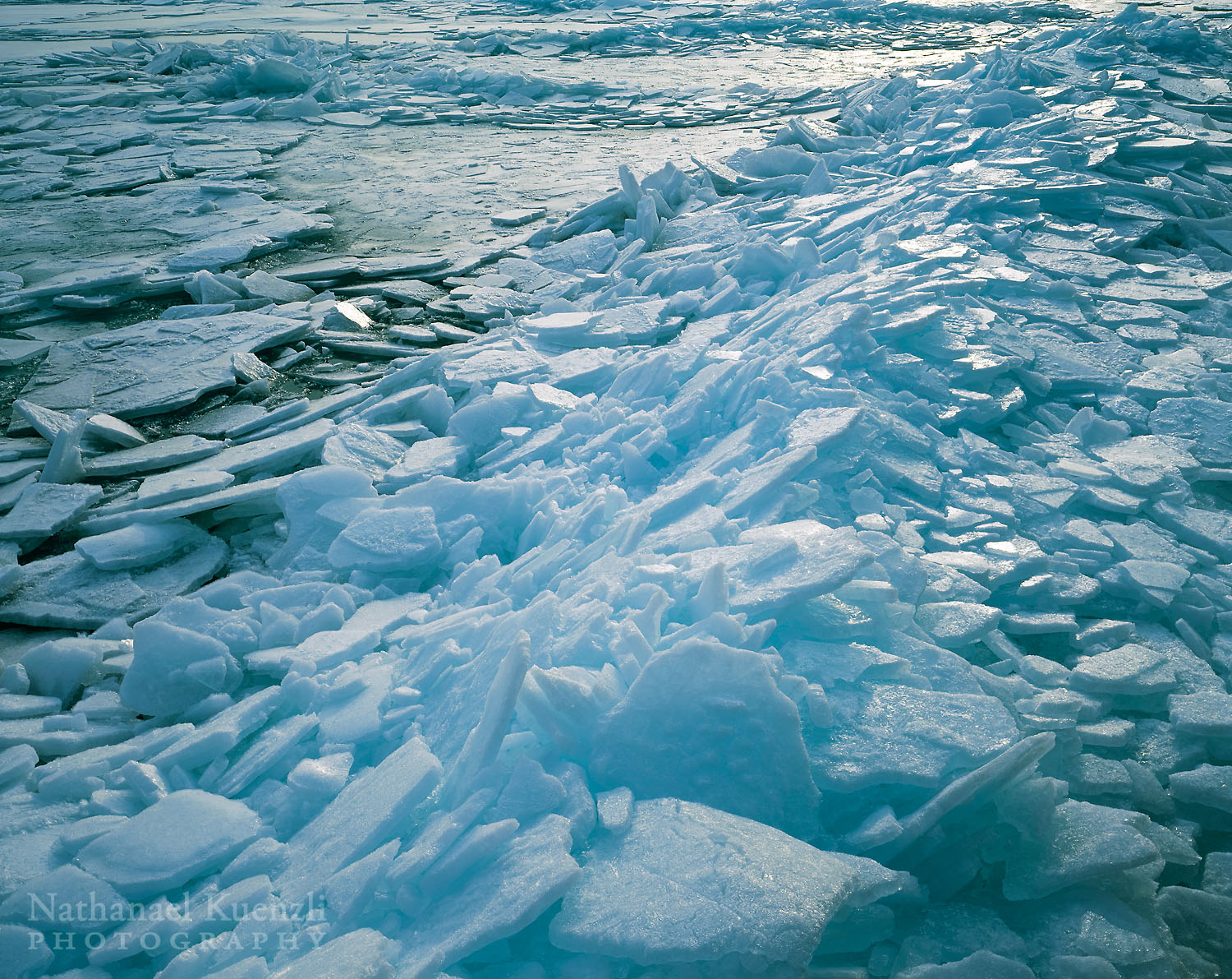 Lake Superior Ice, Cascade River State Park, Minnesota, March 2003