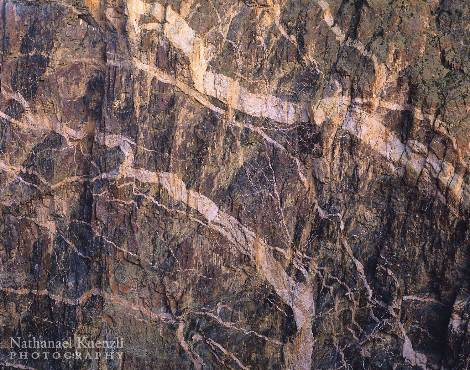 Painted Wall, Black Canyon of the Gunnison National Park, Colorado, May 2004