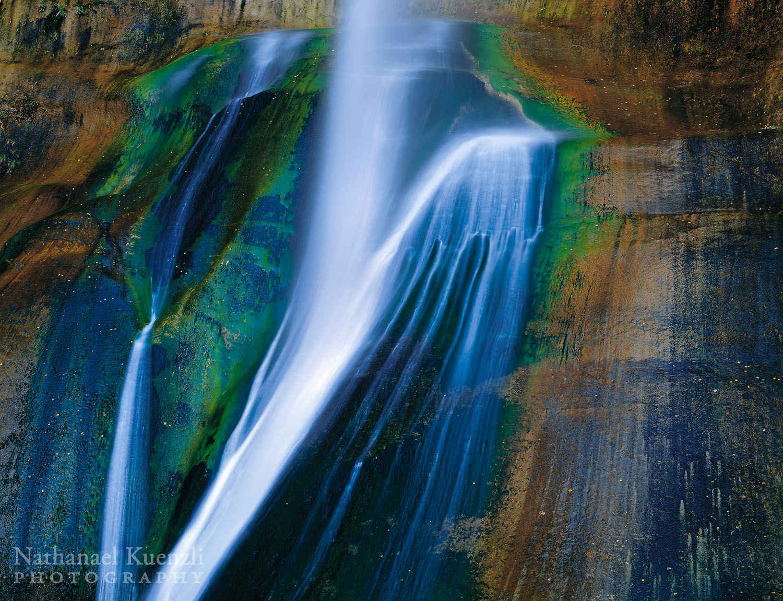 Calf Creek Falls, Grand Staircase-Escalante National Monument, Utah, October 2003