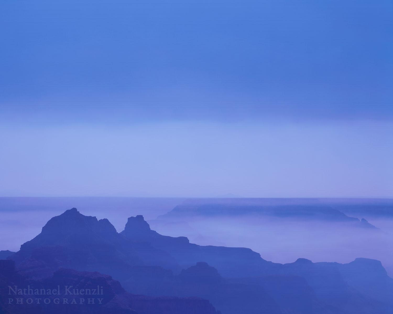 Noon at the North Rim, Grand Canyon National Park, Arizona, October 2003