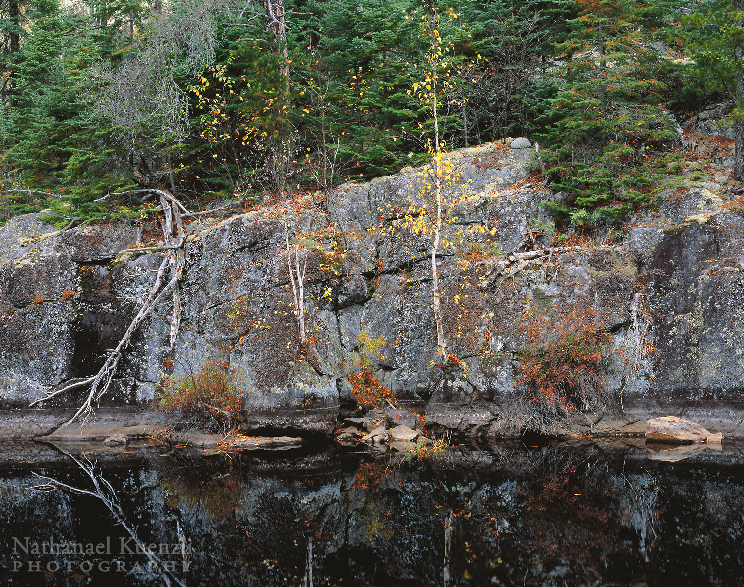 Cherokee Creek, Boundary Waters Canoe Area Wilderness, Minnesota, October 2005