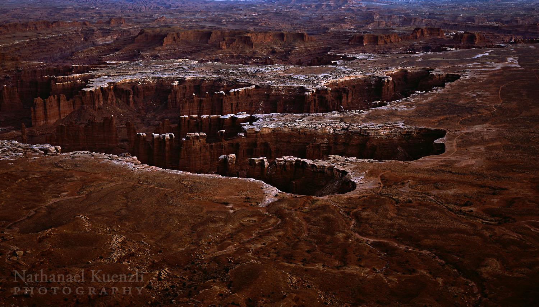 White Rim - Monument Basin, Canyonlands NP, Utah, November 2010