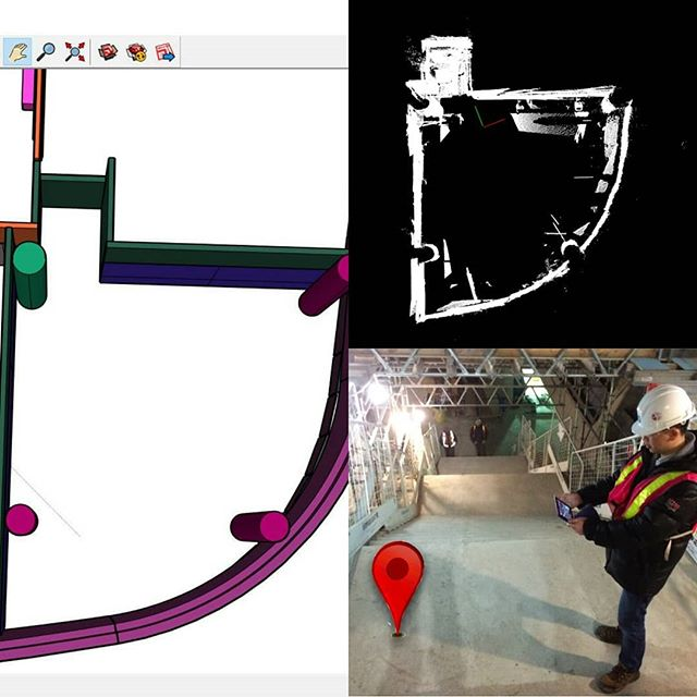 Throwback to almost exactly 2 years ago when we were doing #construction #augmentedreality & #mapping with smartphones. We learned a lot.