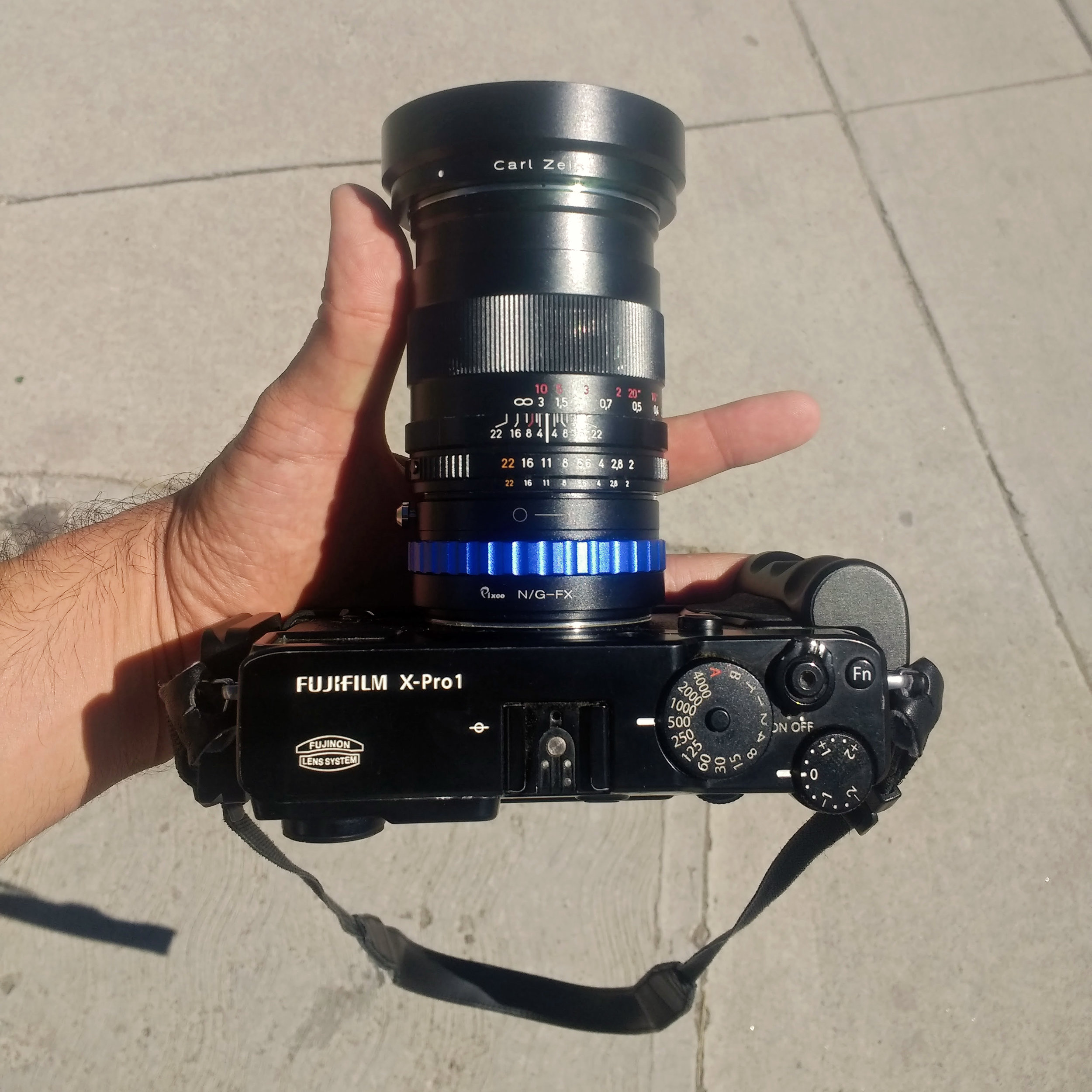 A long lens to compensate for short egos.