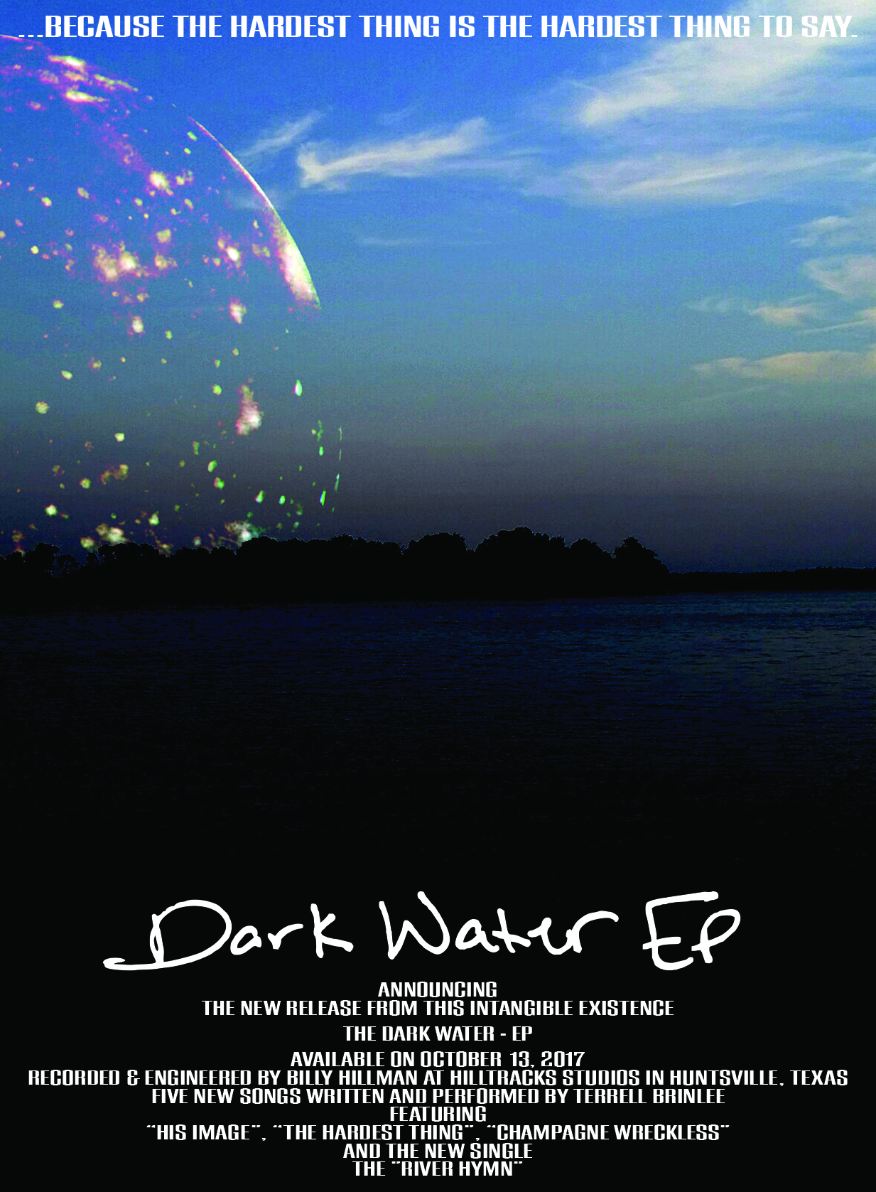 Dark Water EP poster 003 - with typo correction