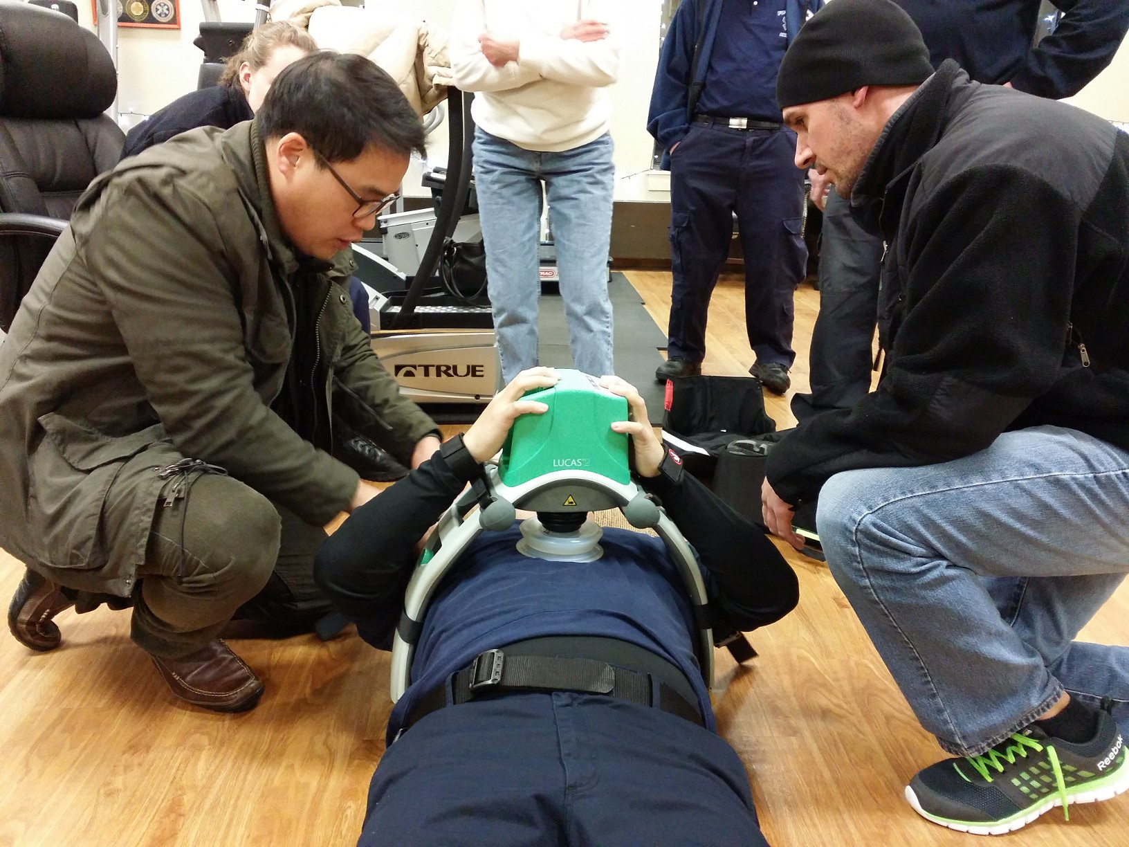 LUCAS™2 Training Class. Fort Lee Volunteer Ambulance Corps, Inc.