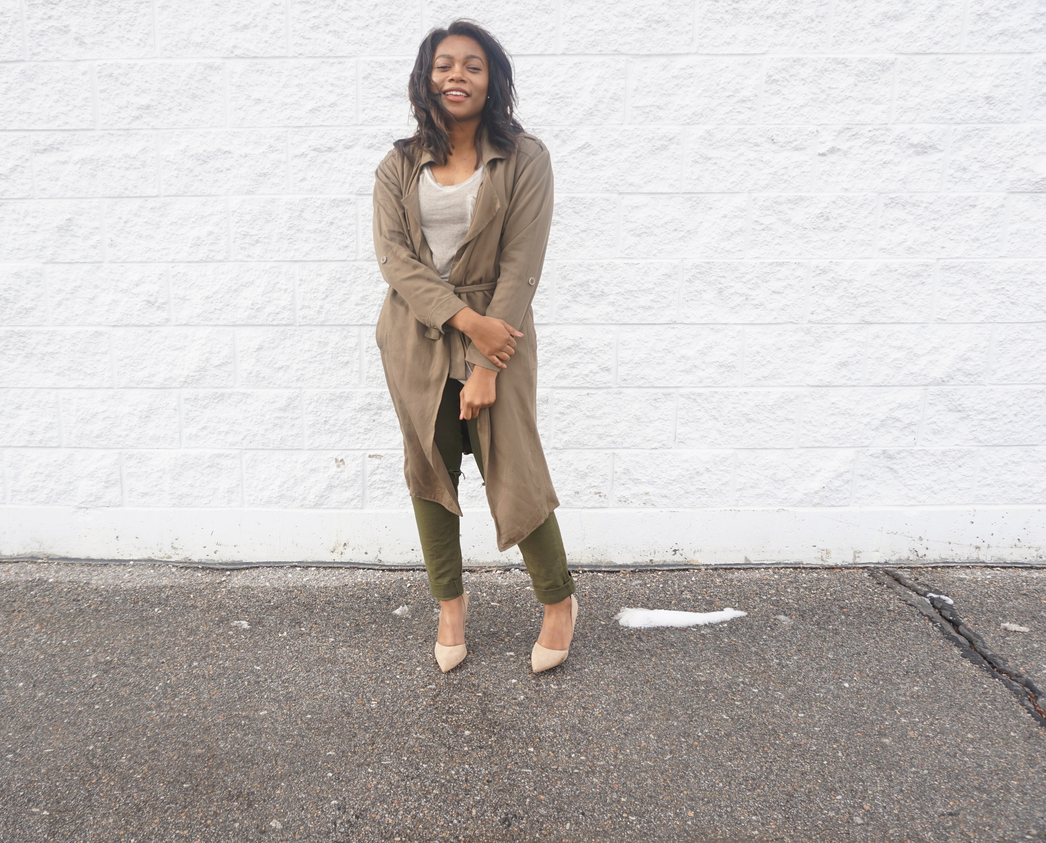 Trench Jacket - $21.00