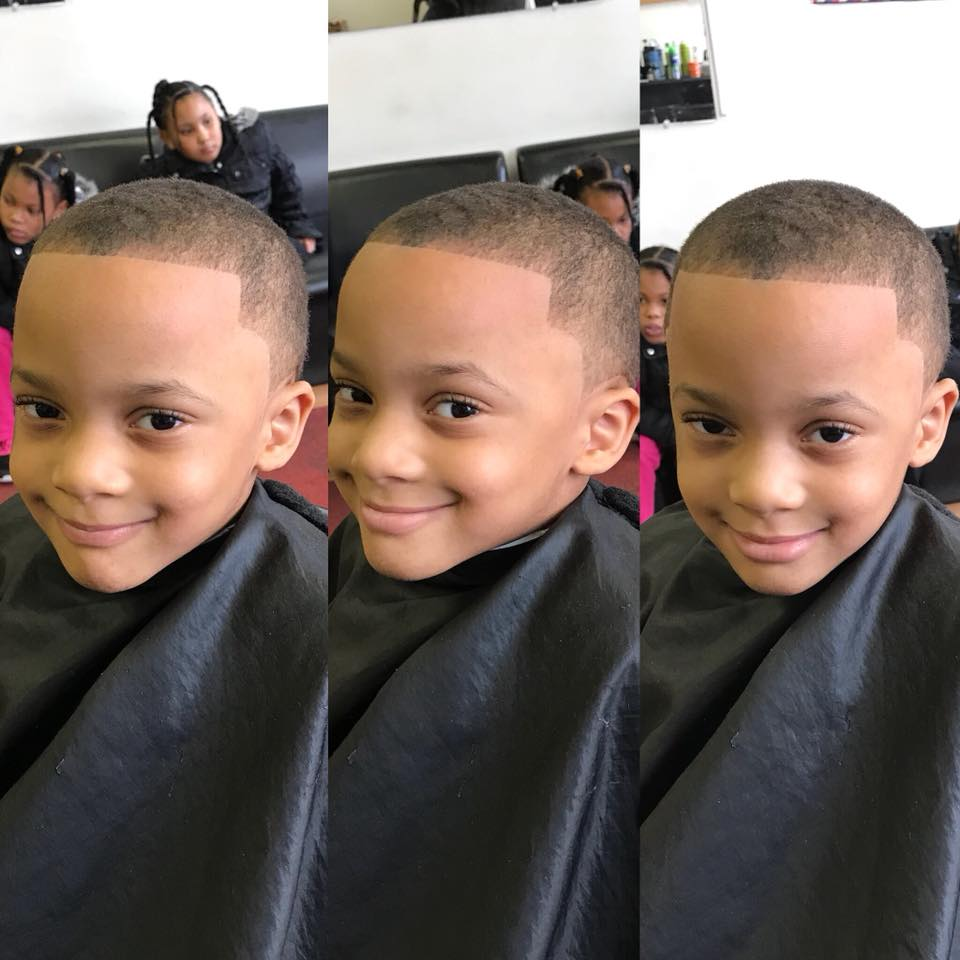 """""""When your cut is fresh, you have plenty to smile about!"""""""